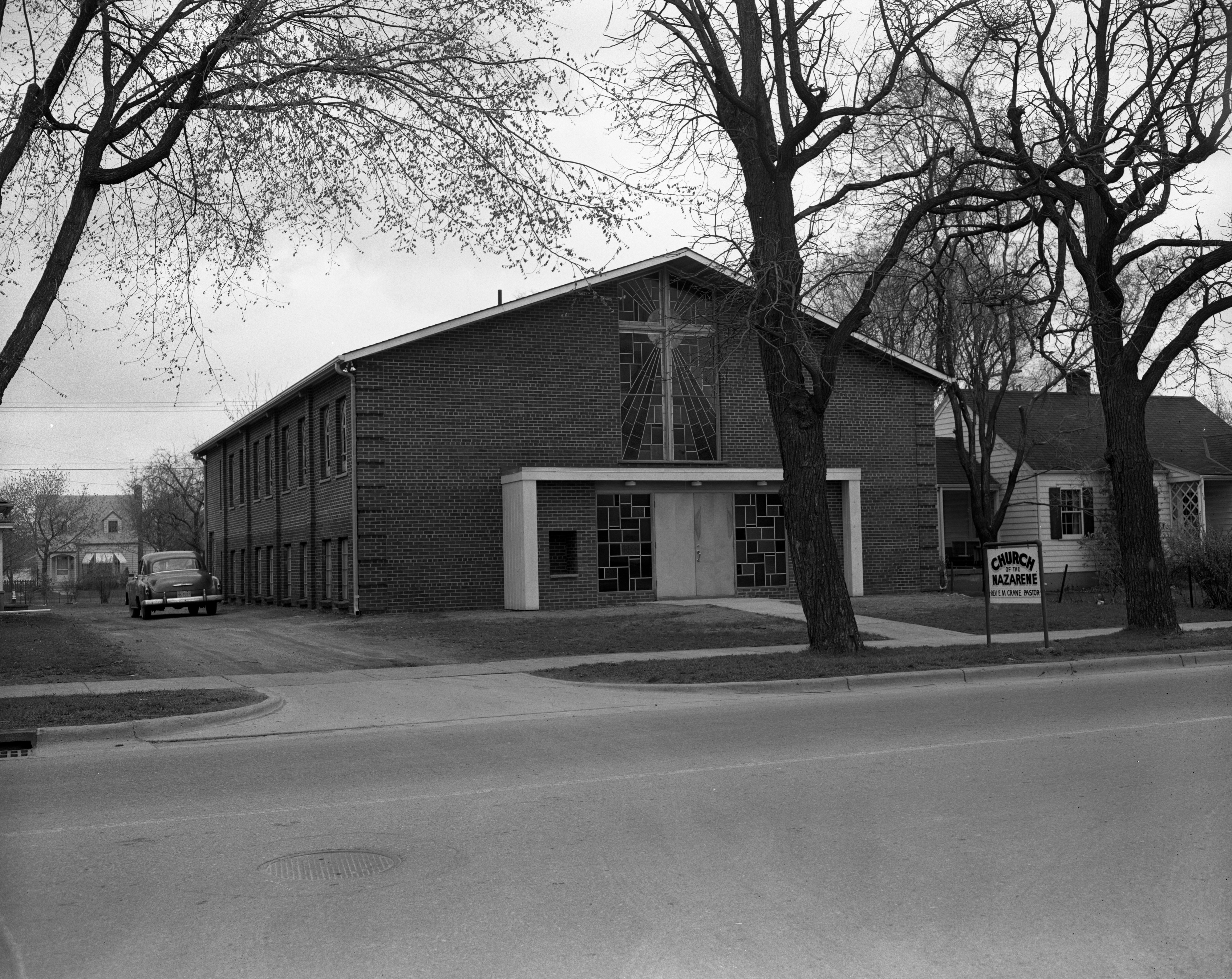 First Church of the Nazarene in Ypsilanti, April 1958 image