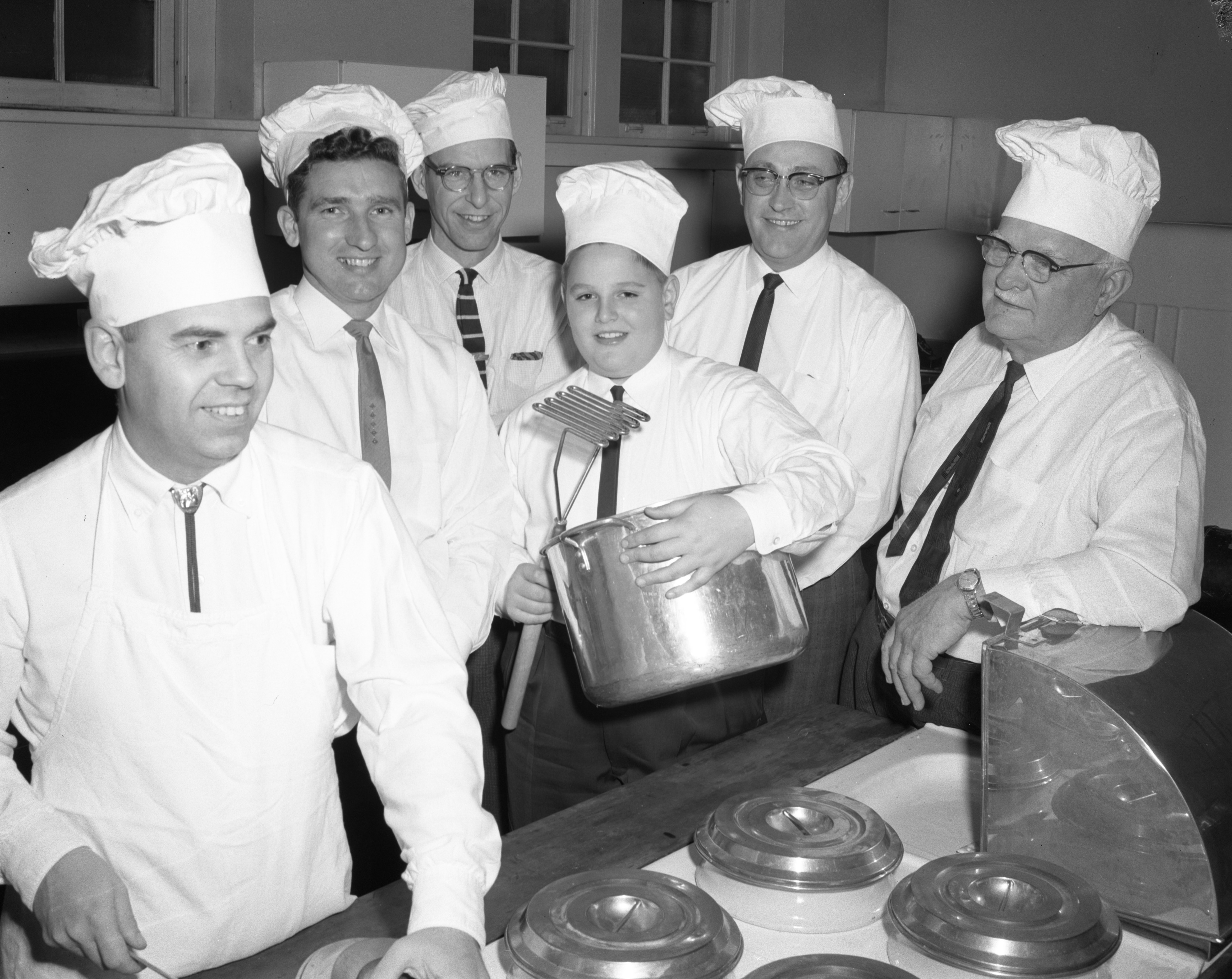 Men of St. Luke's Episcopal Church to Serve Food at Annual Smorgasbord, August 1960 image