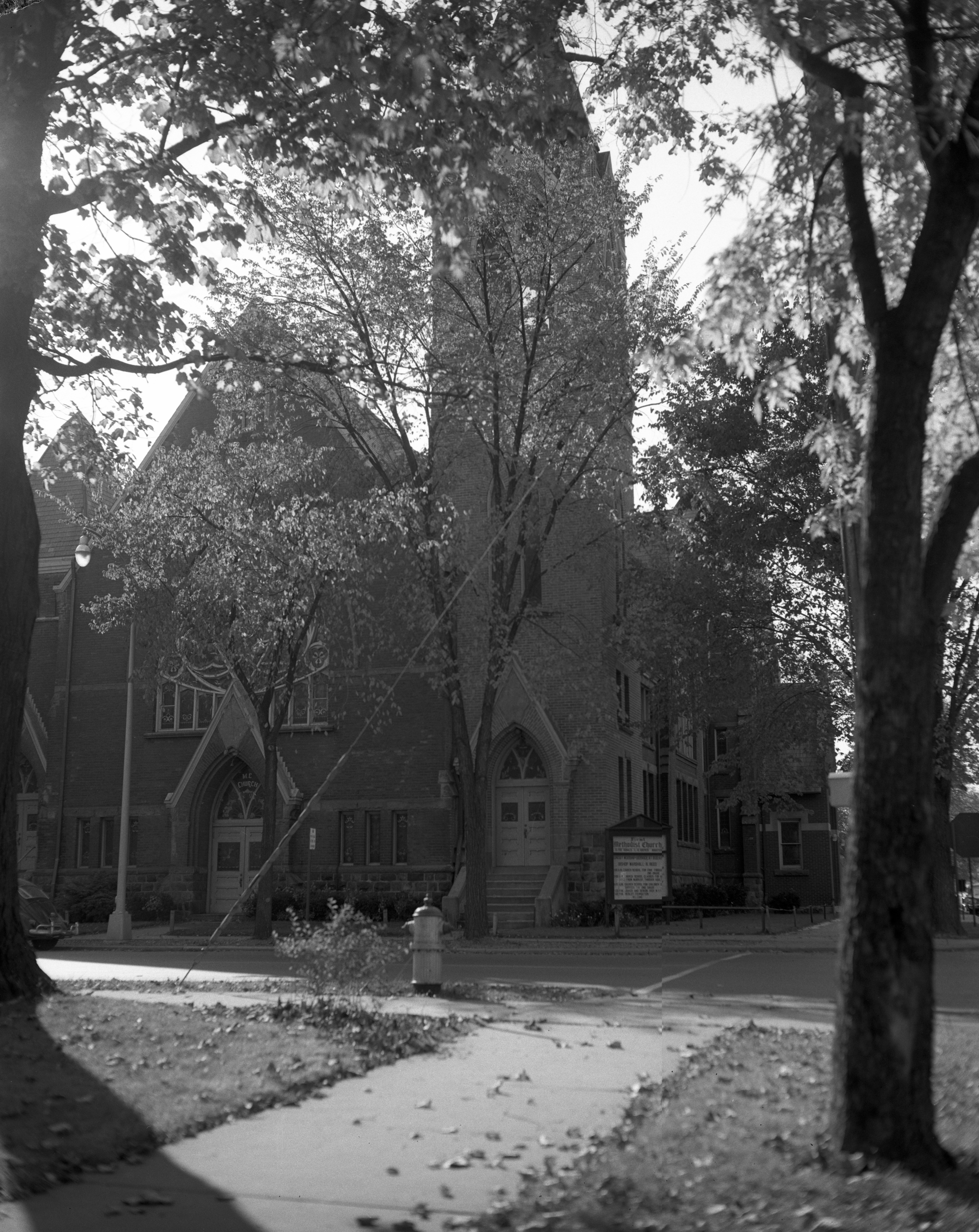 First Methodist Church of Ypsilanti, 1960 image