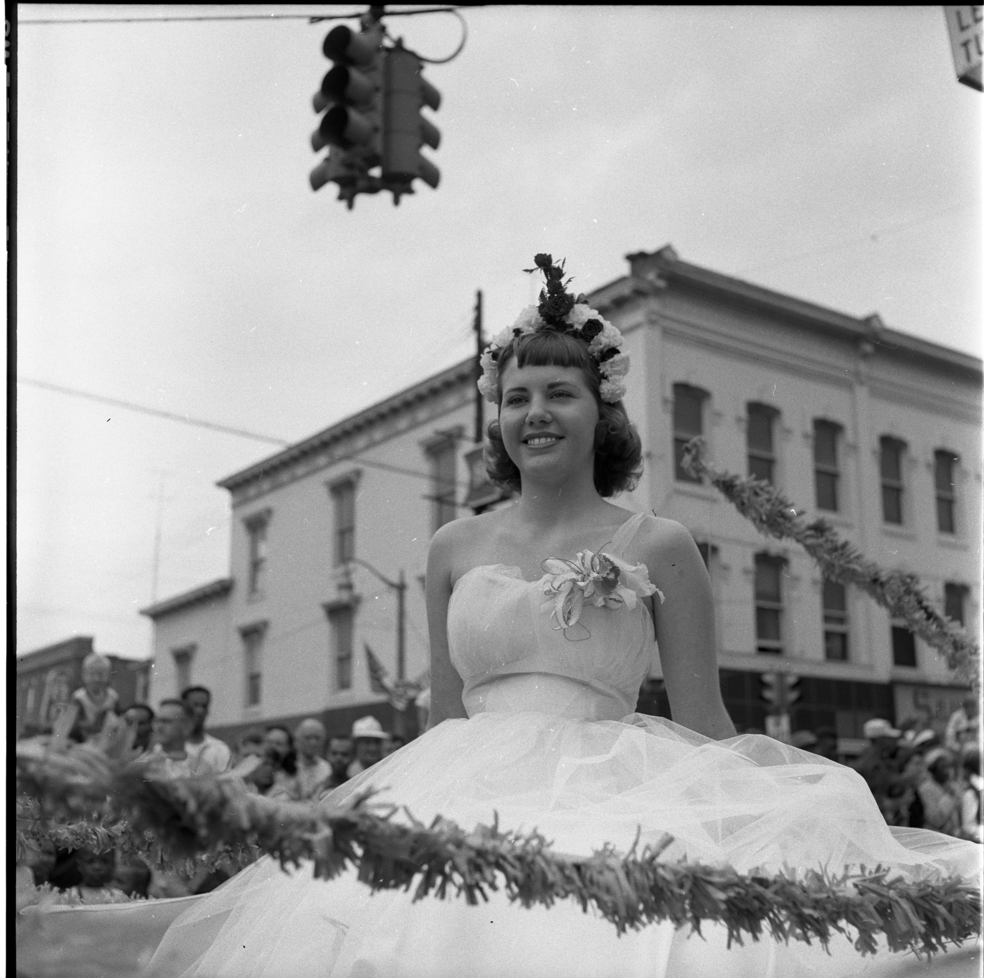 Fourth Of July Parade Draws Big Turnout, July 1956 image
