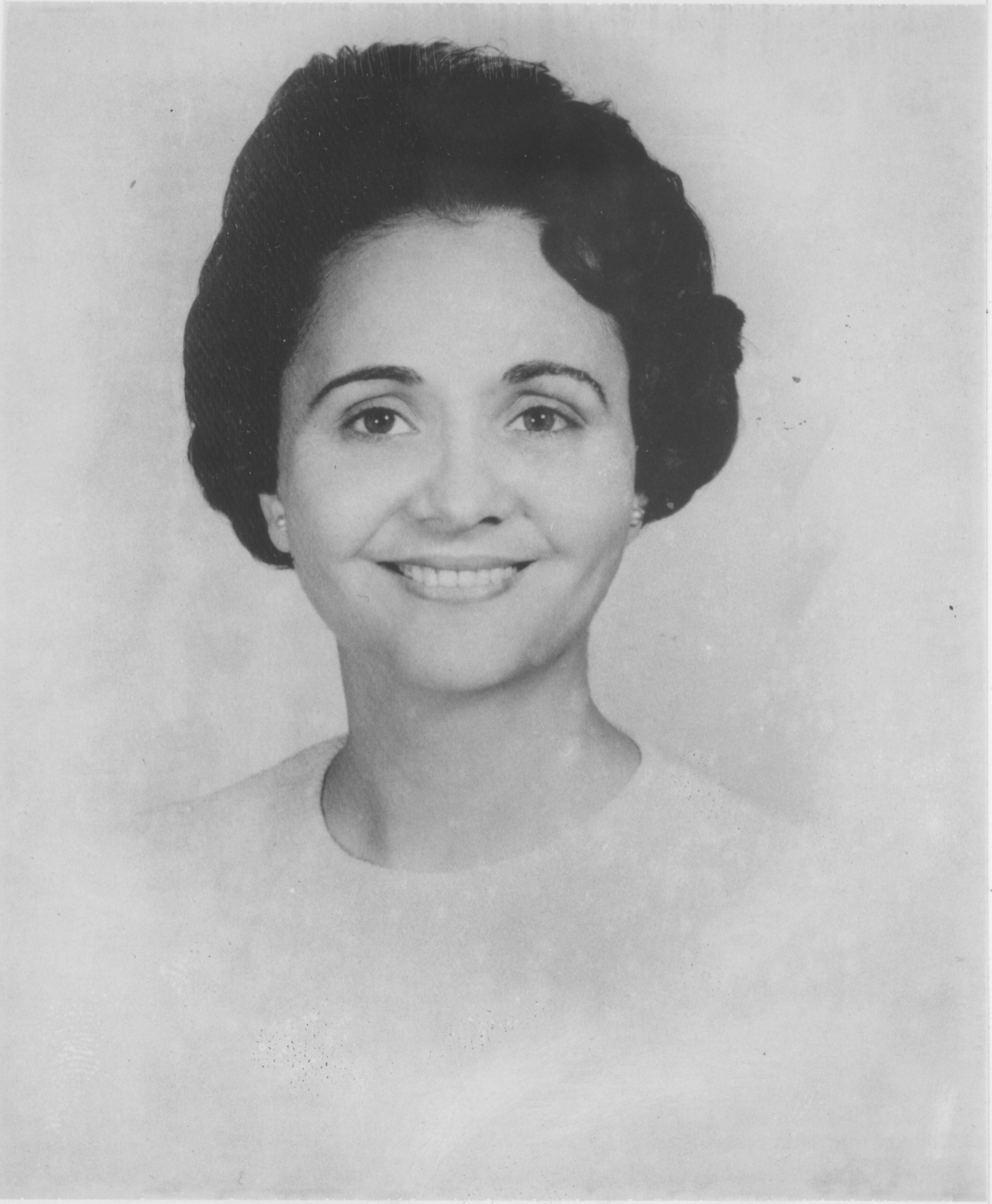 Portrait of Evelyn M. Wasson, March 1969 image