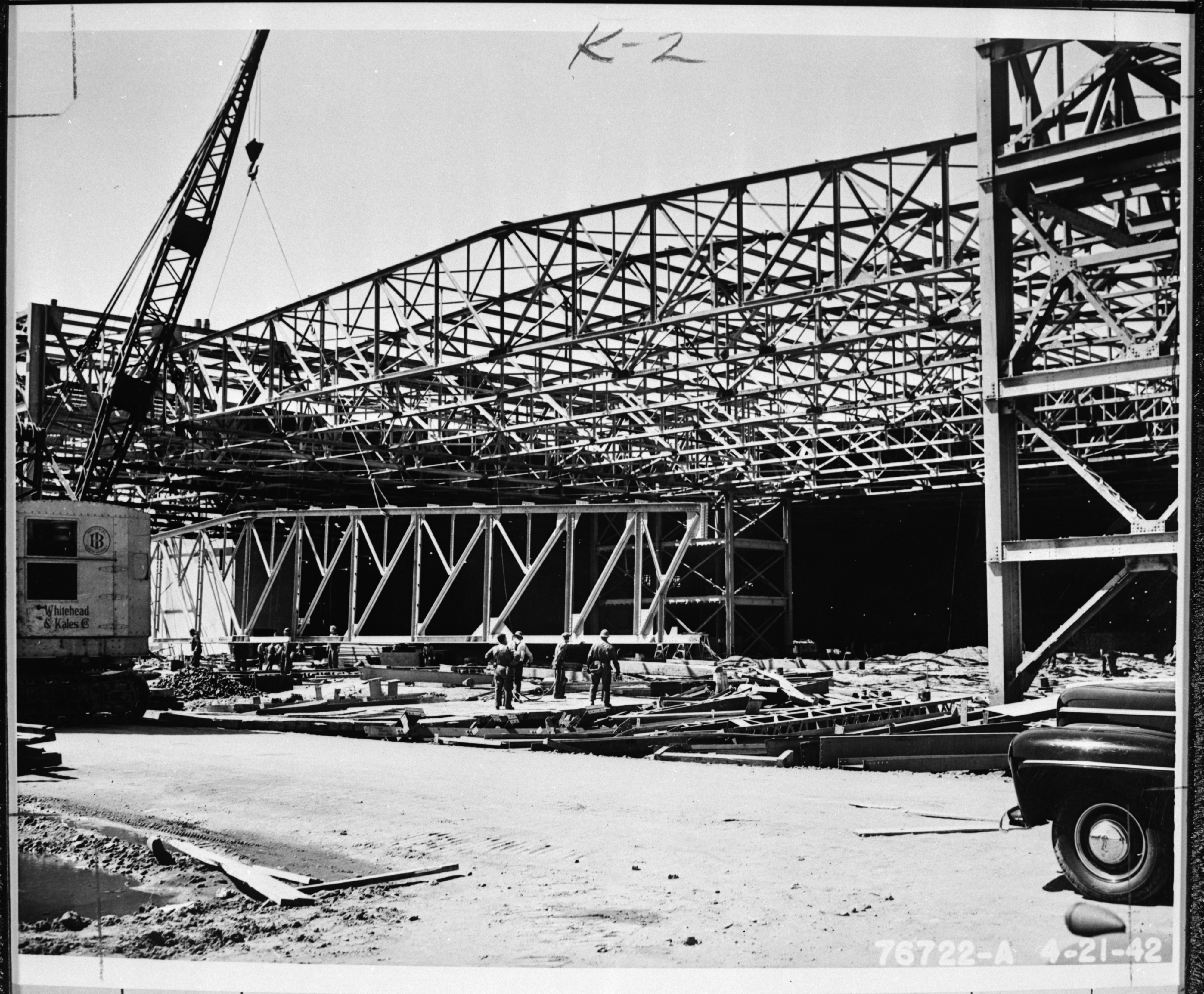 Building the Willow Run Bomber Plant, circa 1941 image