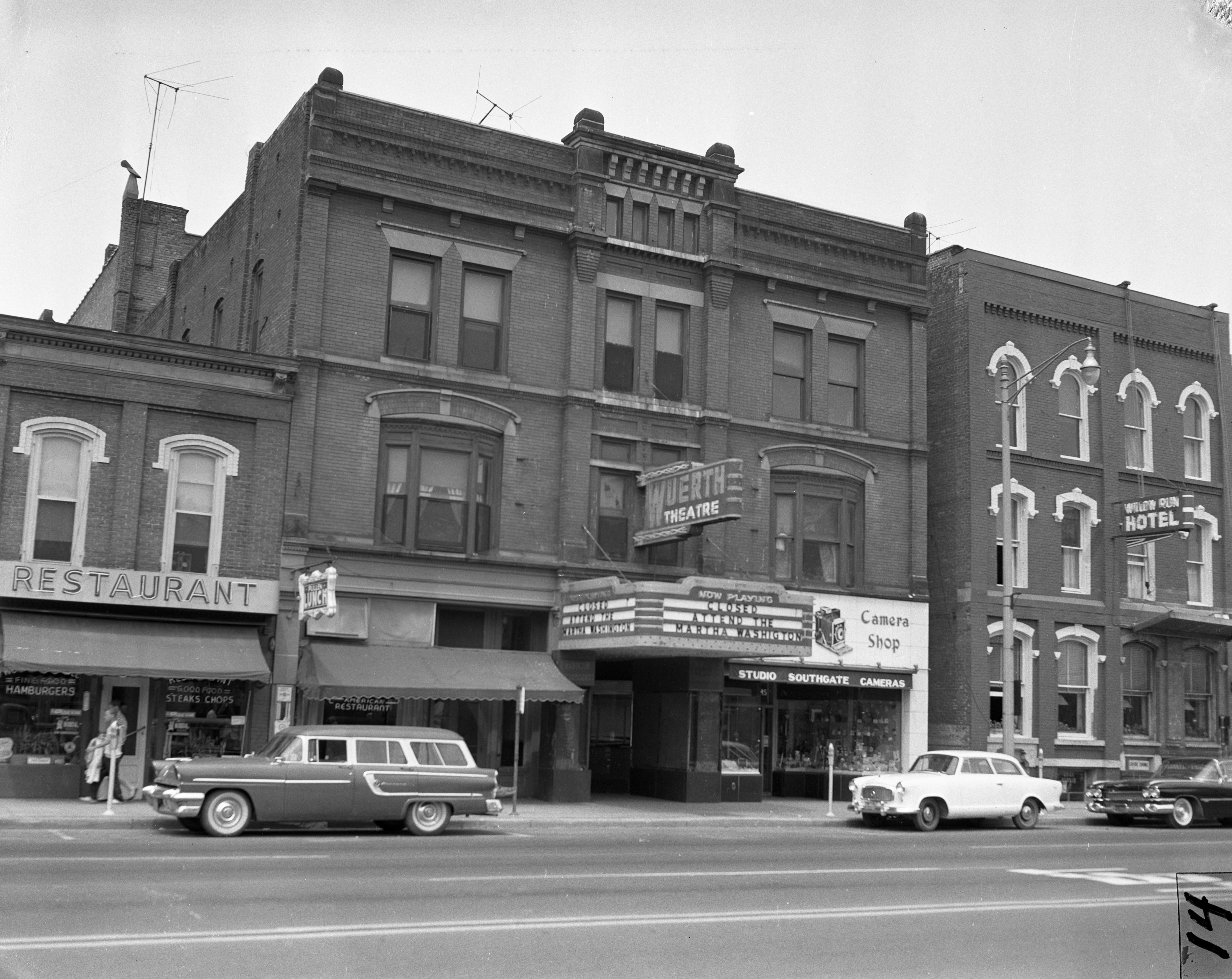 Wuerth Theatre in Ypsilanti, July 1959 image