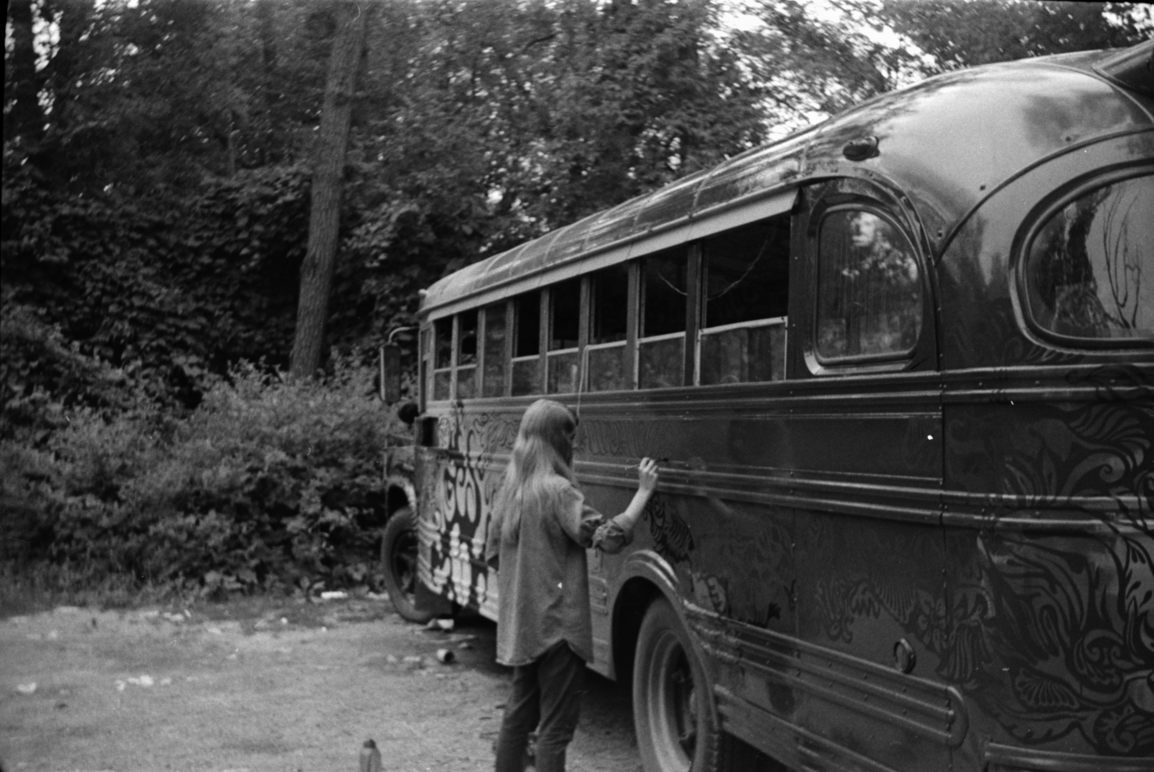 Hippie Bus, July 1967 image