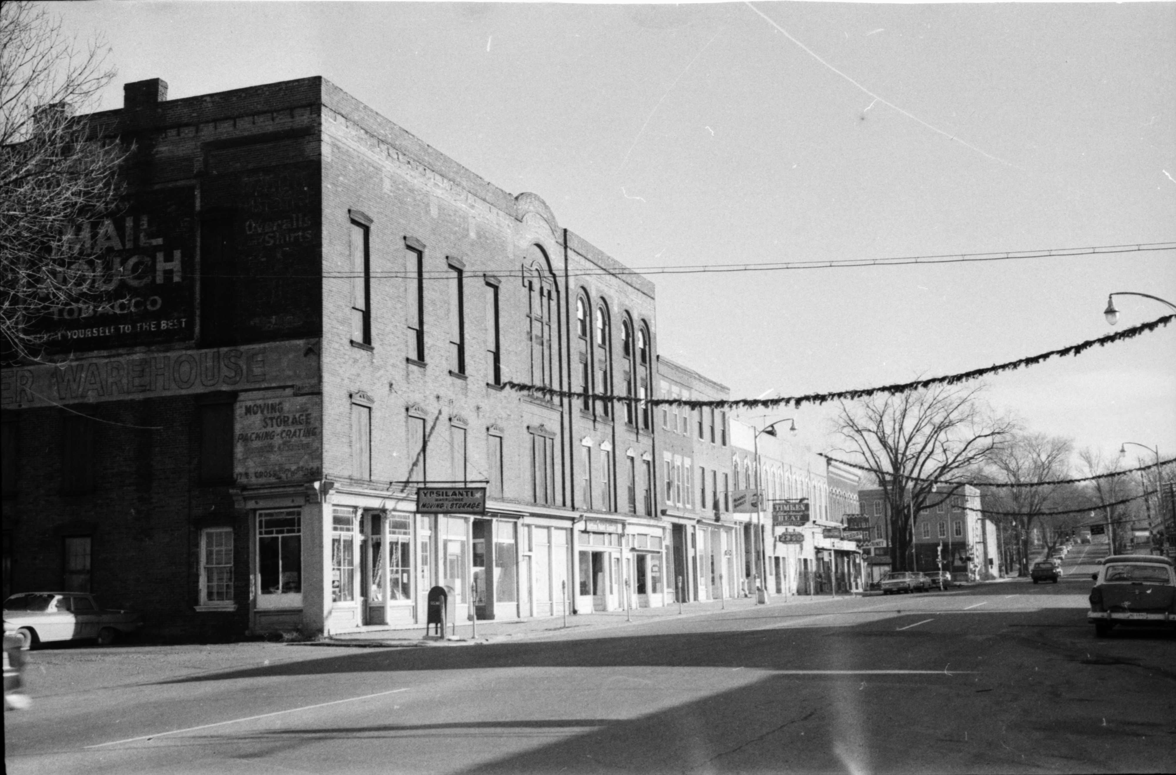 Old Buildings in Depot Town, Ypsianti, undated image