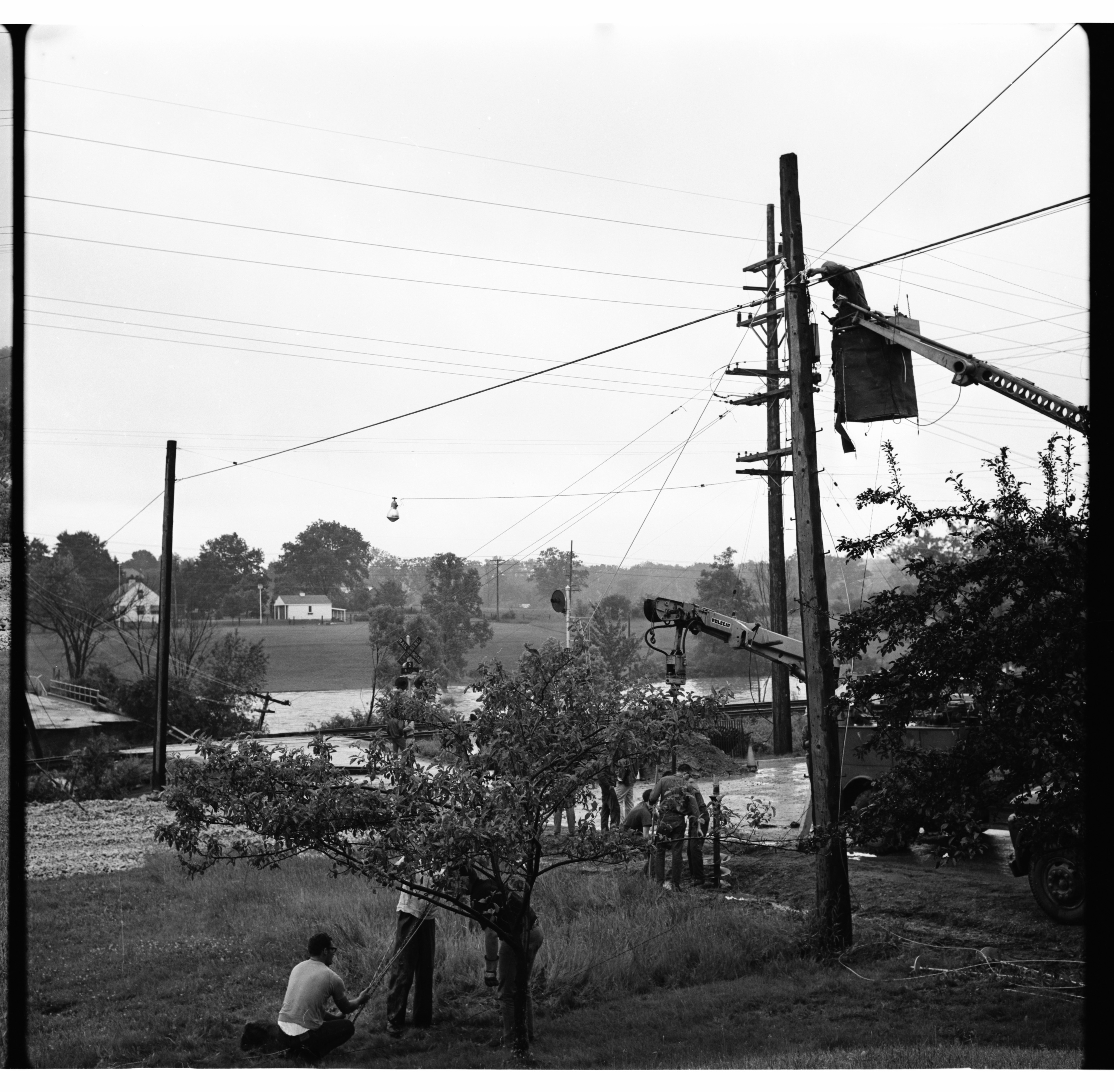 Fixing Wires, June 1968 Flood image