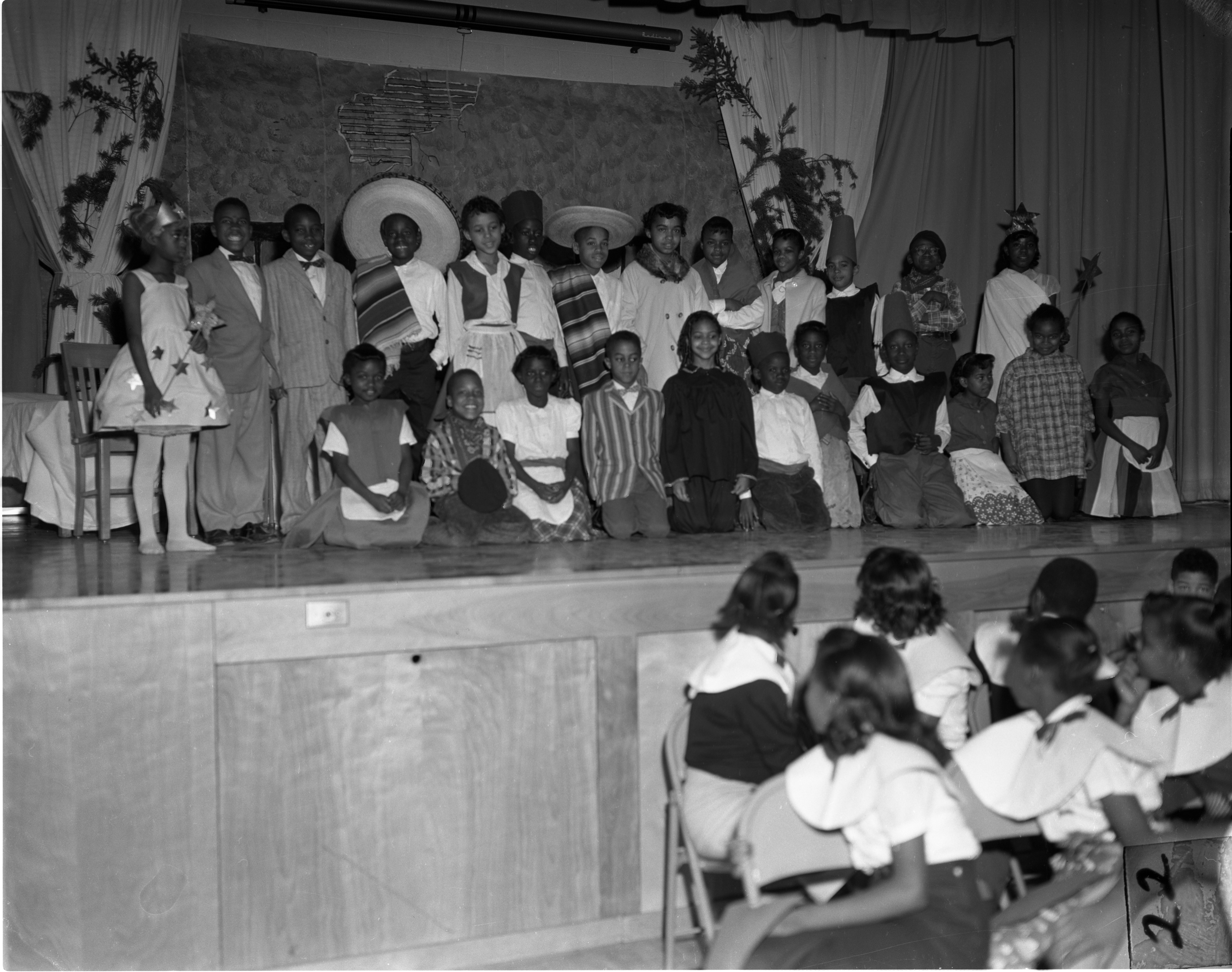 Perry School Students' Christmas Play, December 18, 1959 image