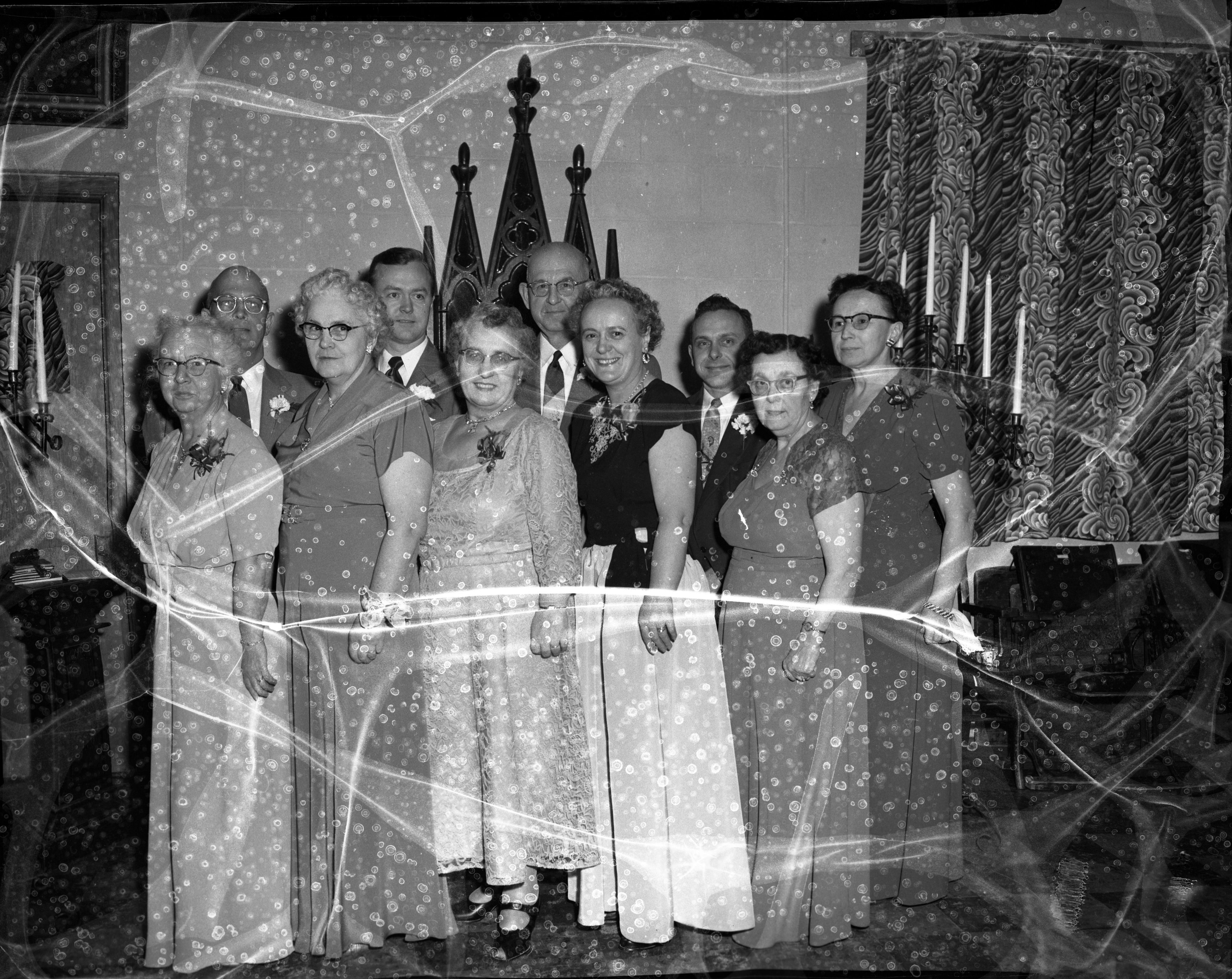 The Pythian Sisters and Knights of Pythias of Queen City, Lodge 167, Ypsilanti, January 1955 image