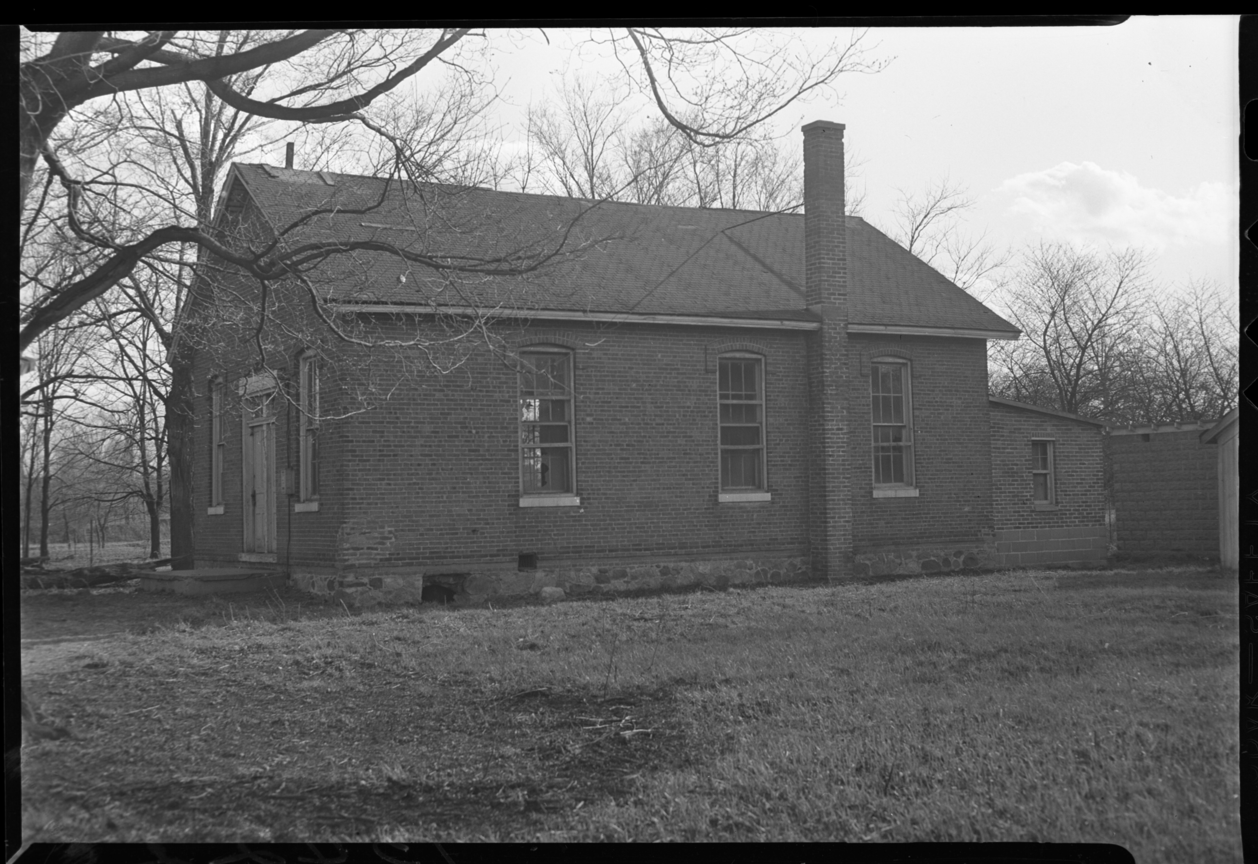 Old Rawsonville school building, 1949? image