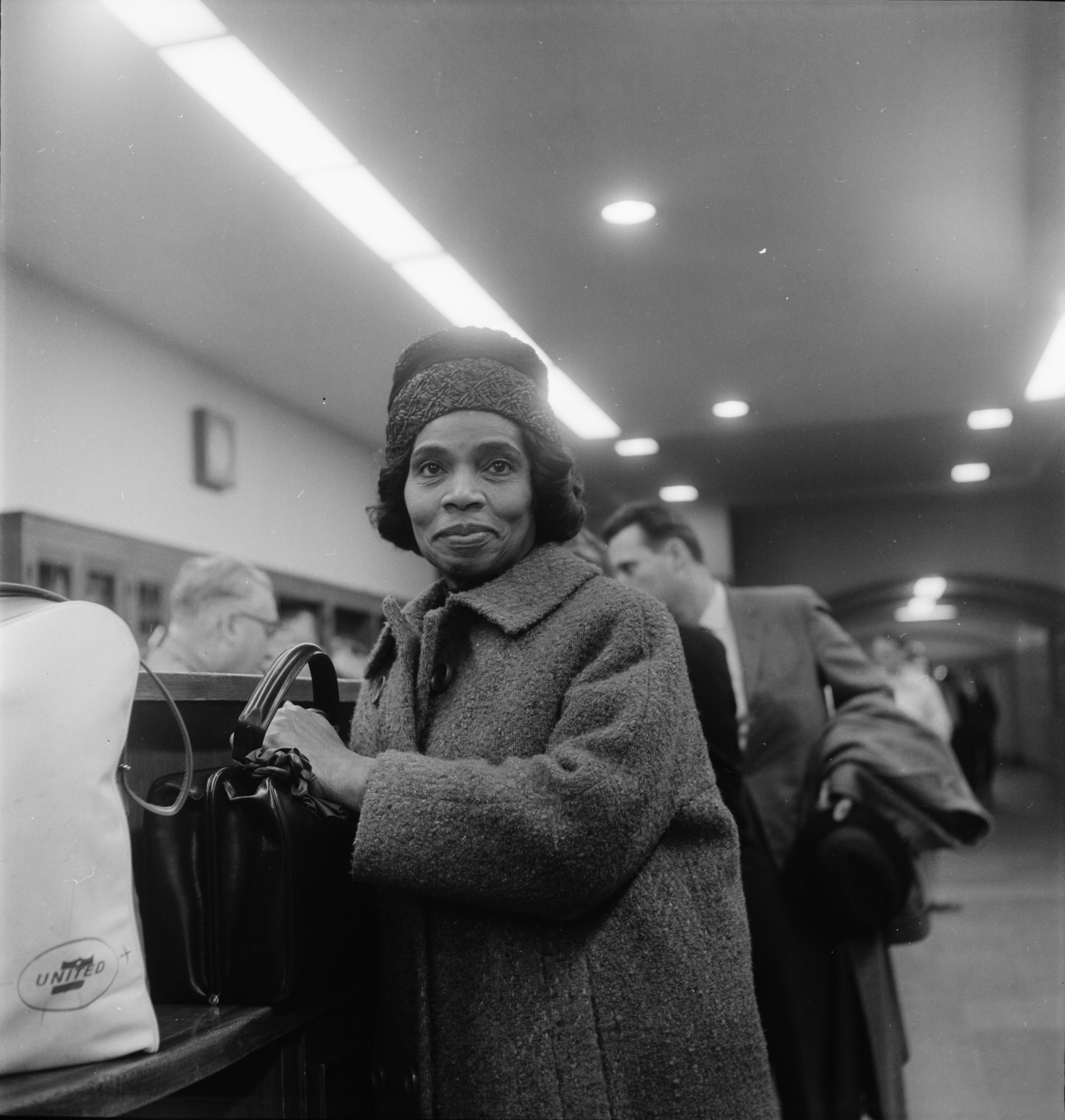 Marian Anderson in Ann Arbor, April 1965 image