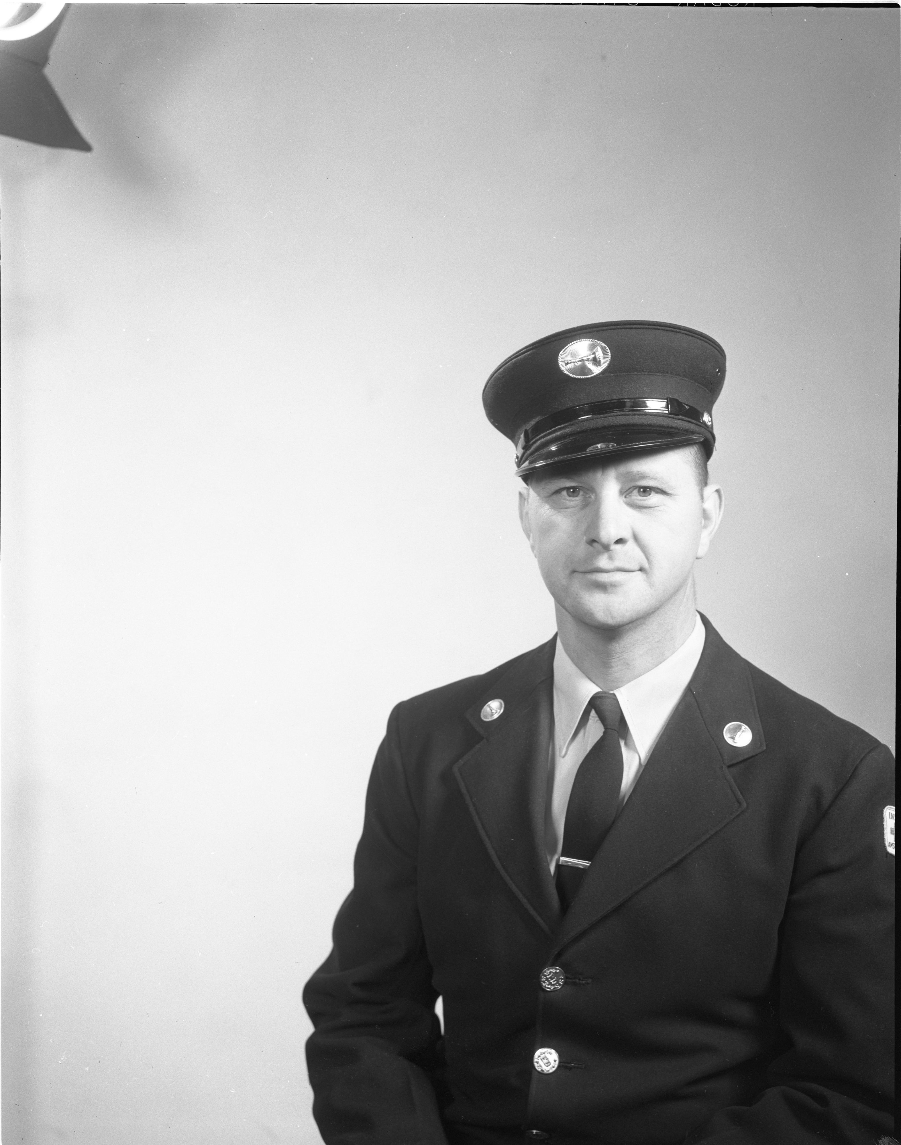 Laurel Bauer, Ann Arbor Fireman, April 1963 image