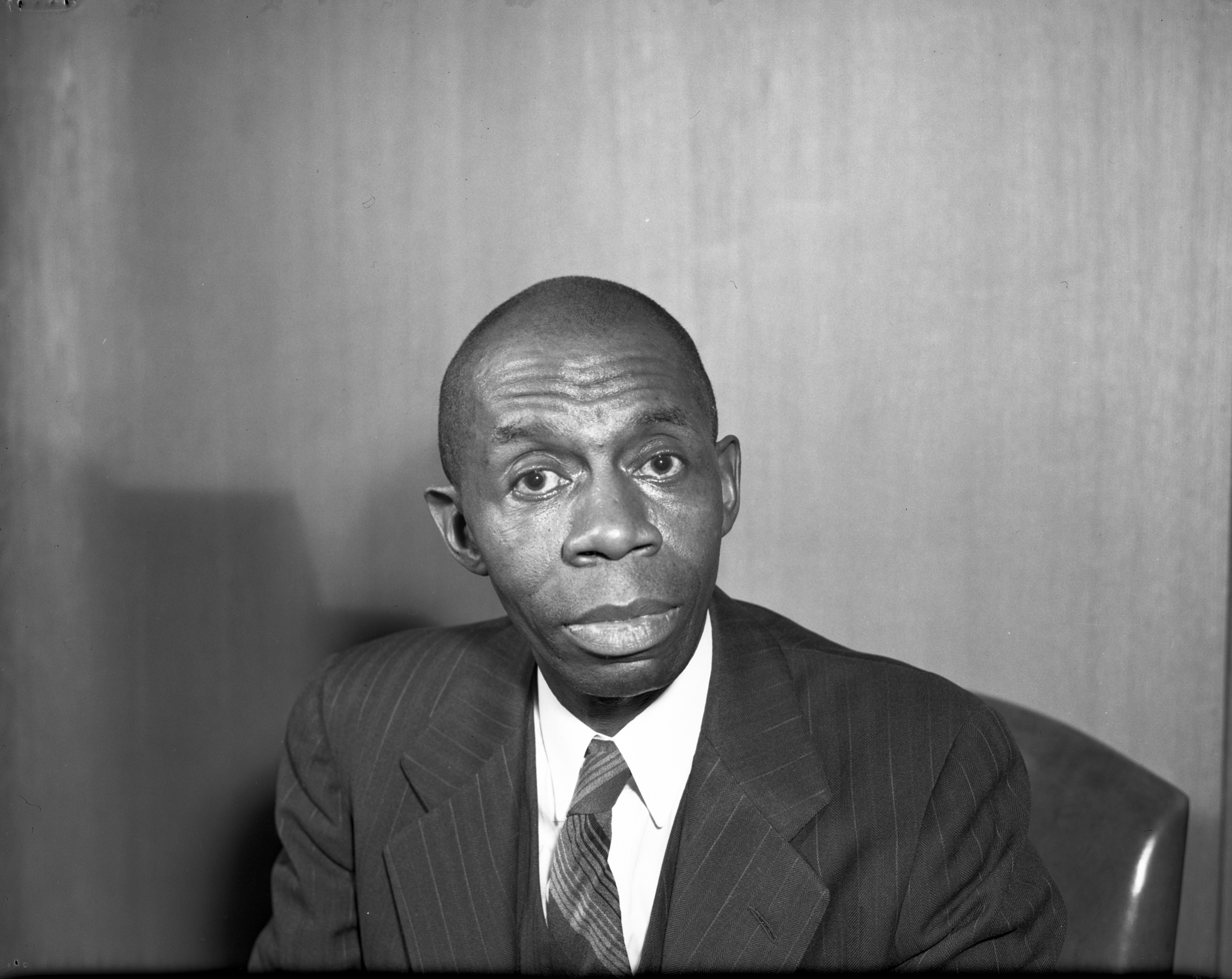 Rev. Charles W. Carpenter, Pastor of Second Baptist Church, March 1943 image