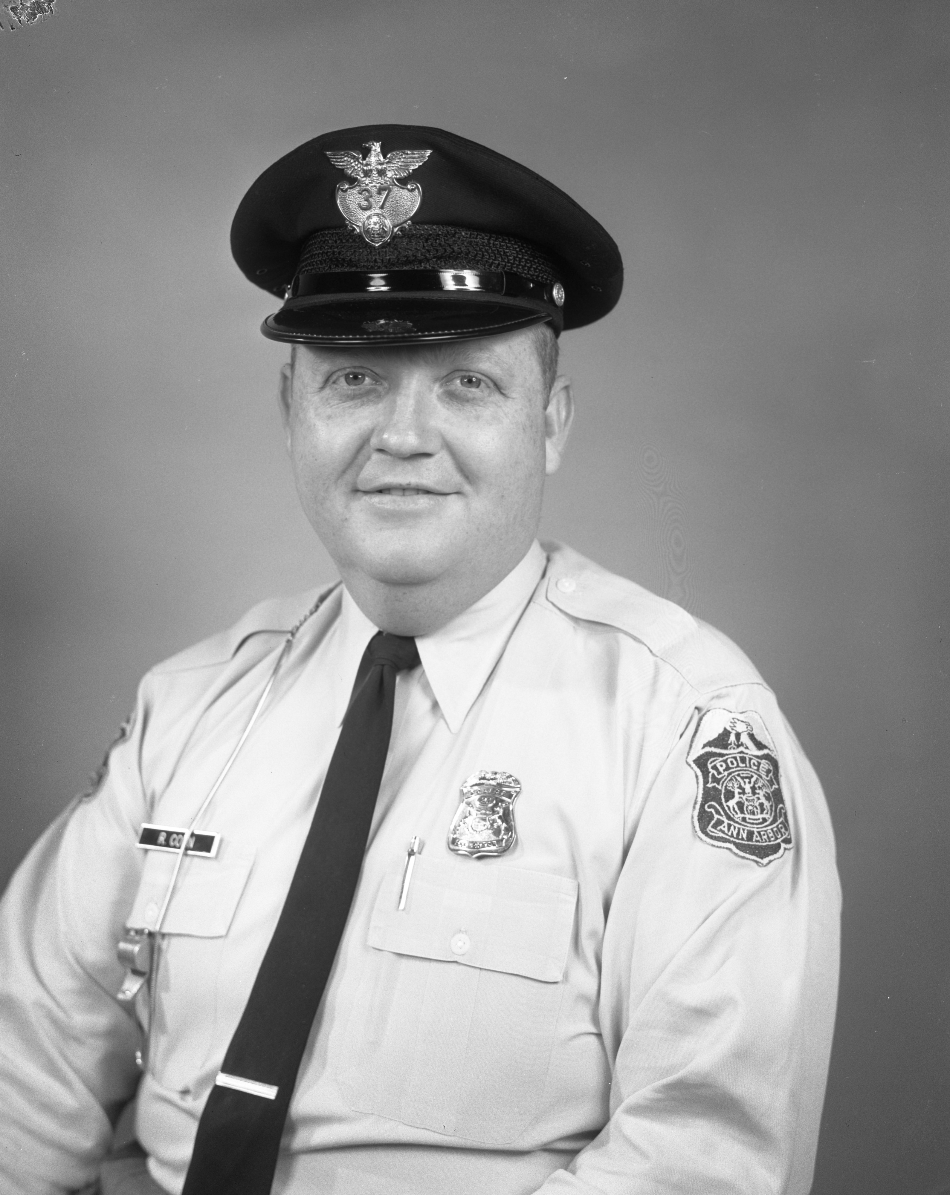 Ann Arbor Police Department Officer Robert Conn, July 1962 image