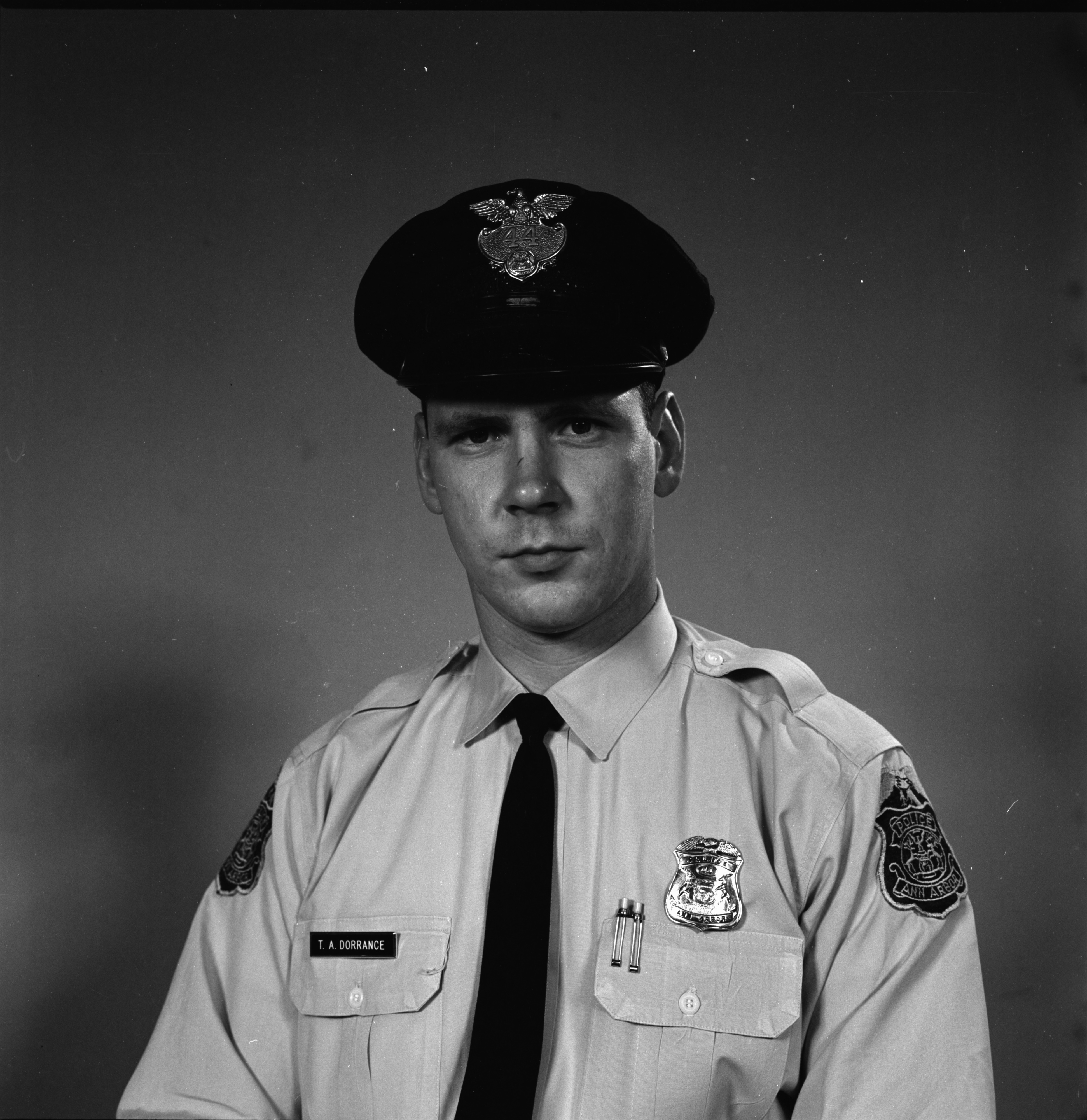 Ann Arbor Police Department Patrolman Thomas A. Dorrance, July 1965 image
