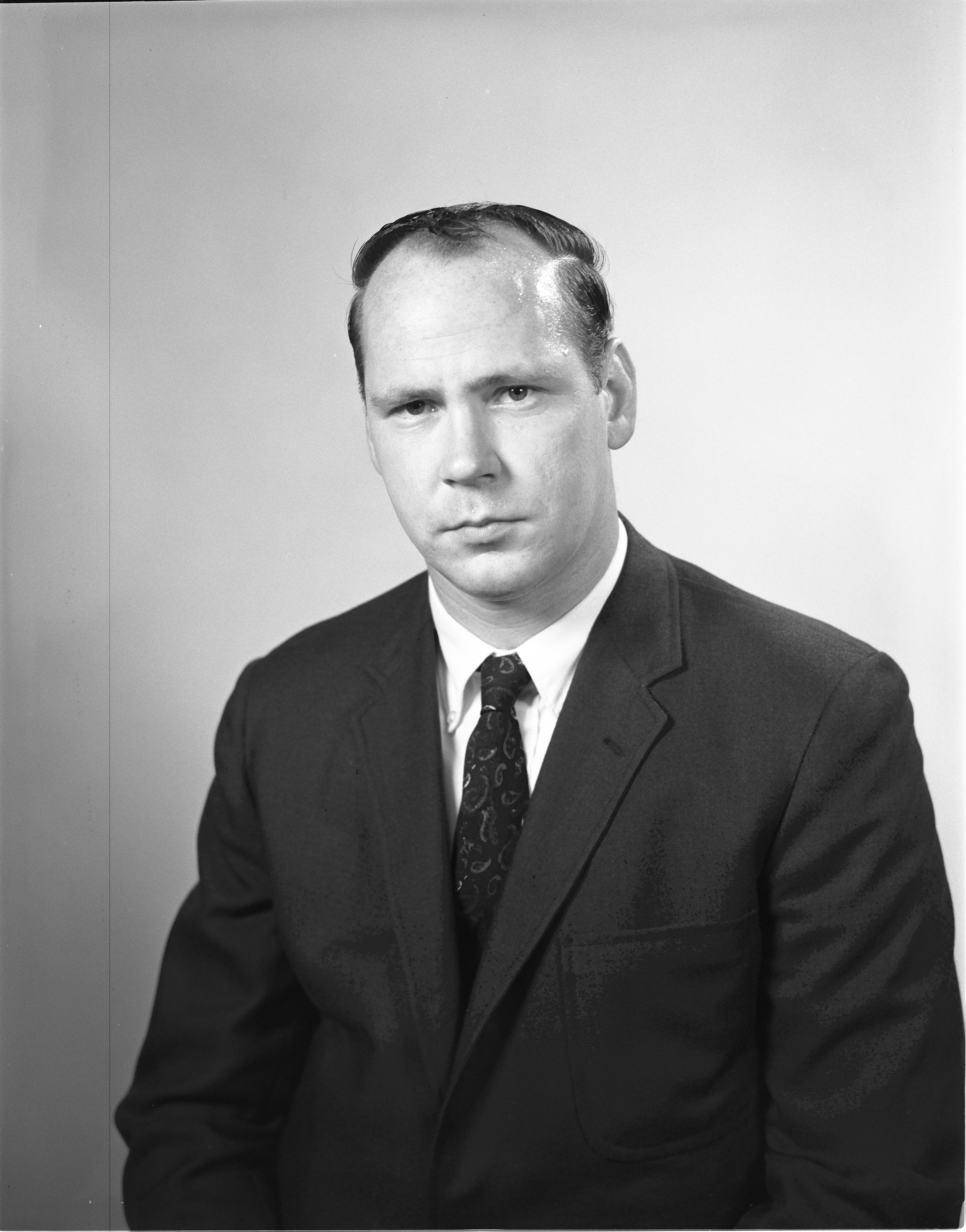 Washtenaw County Sheriff's Department Sgt. Thomas Dorrance, July 1968 image