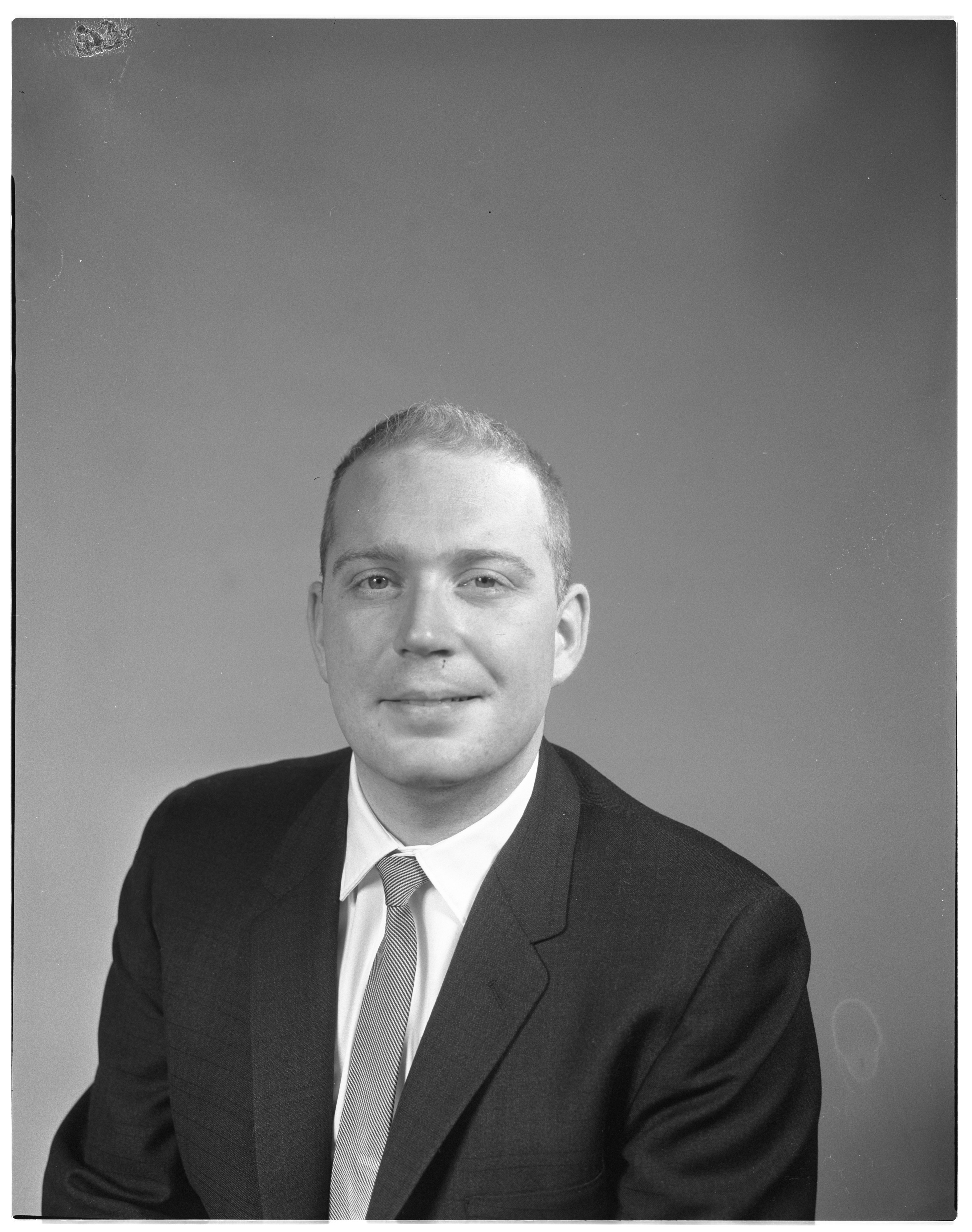 Dean Z. Douthat Named Chief Engineer of Preliminary Design at Sensor Dynamics, February 1963 image