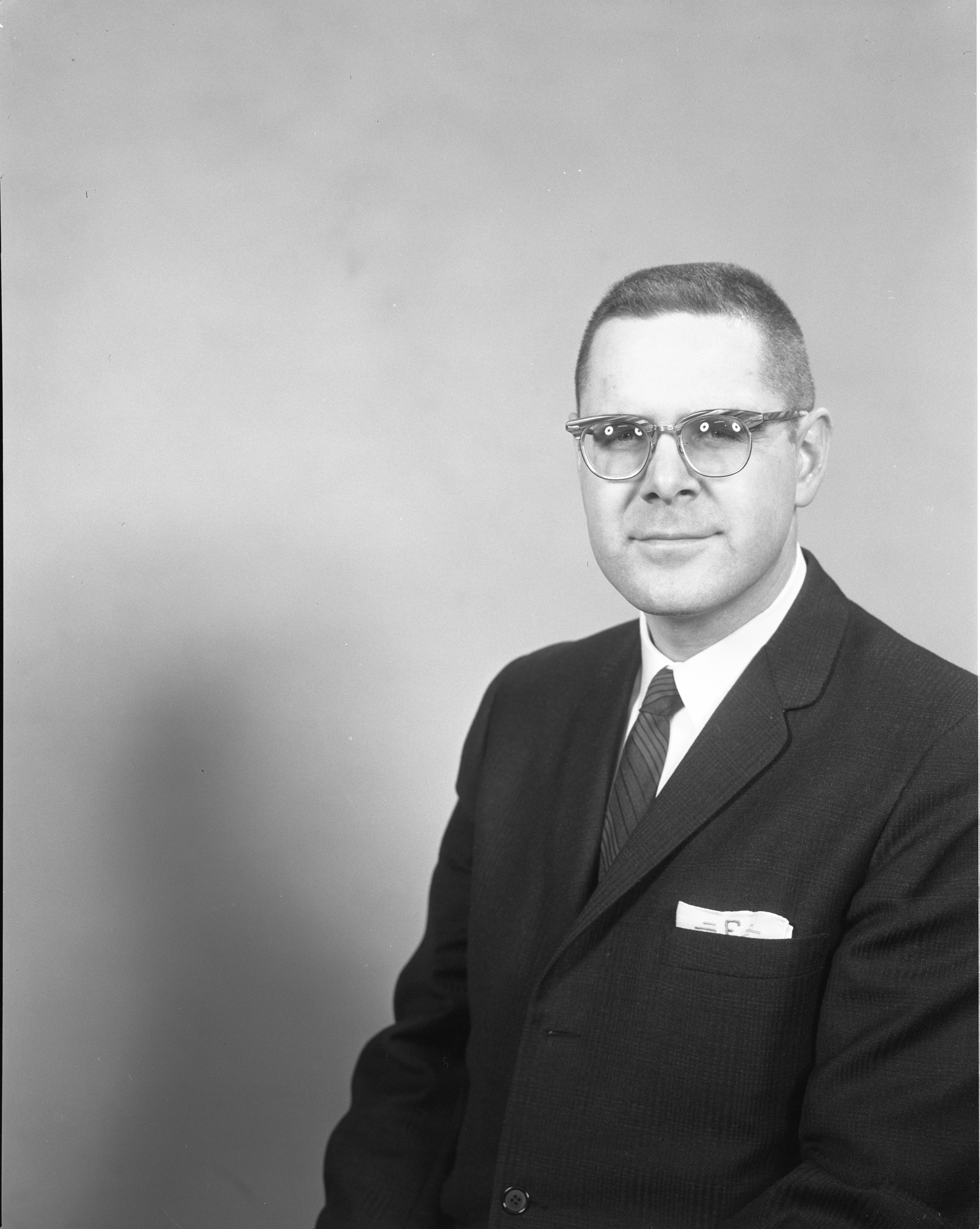 Fred Eibler, Realtor - The Butts & Swisher Co., February 1963 image