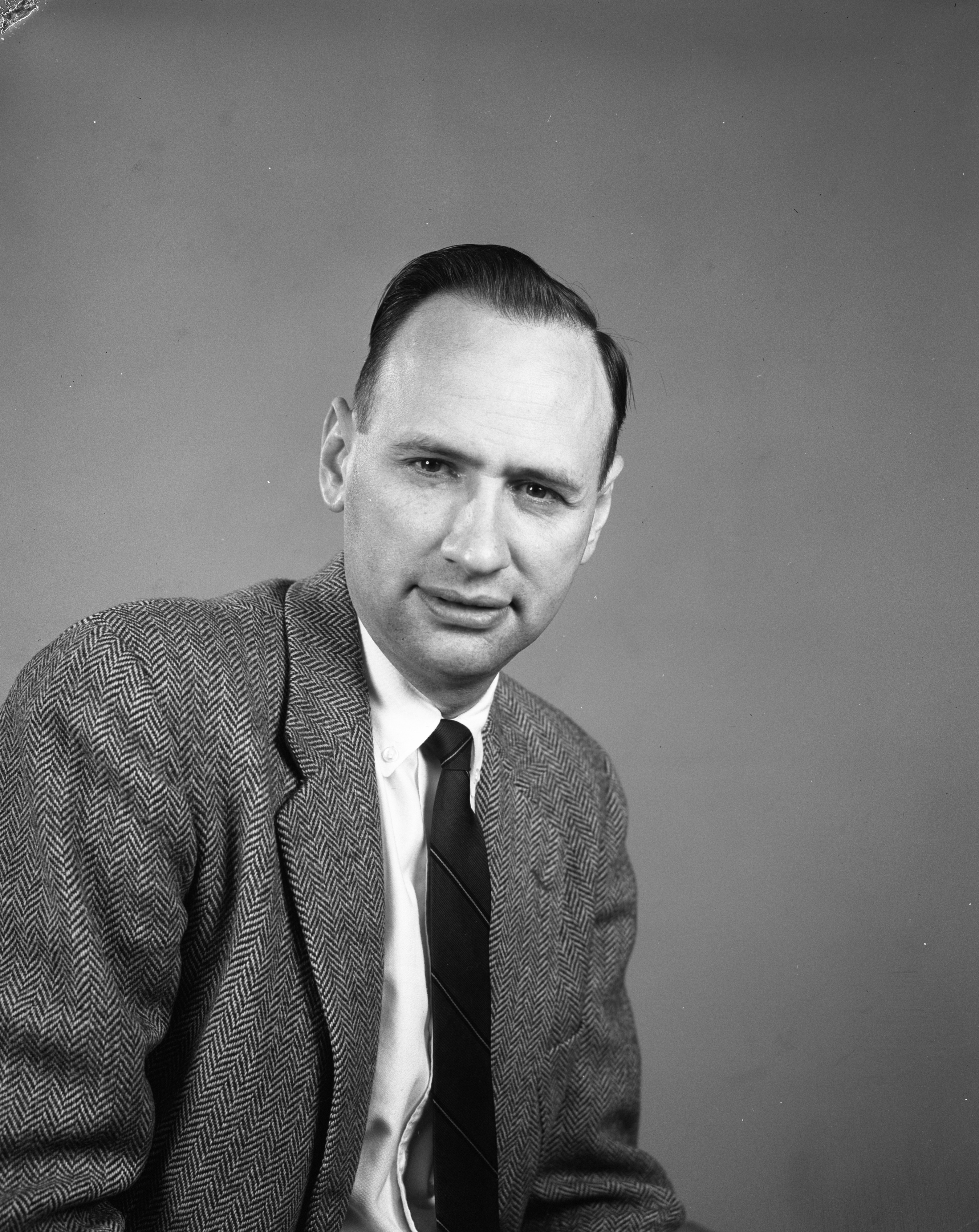 Ted Heusel, December 1958 image