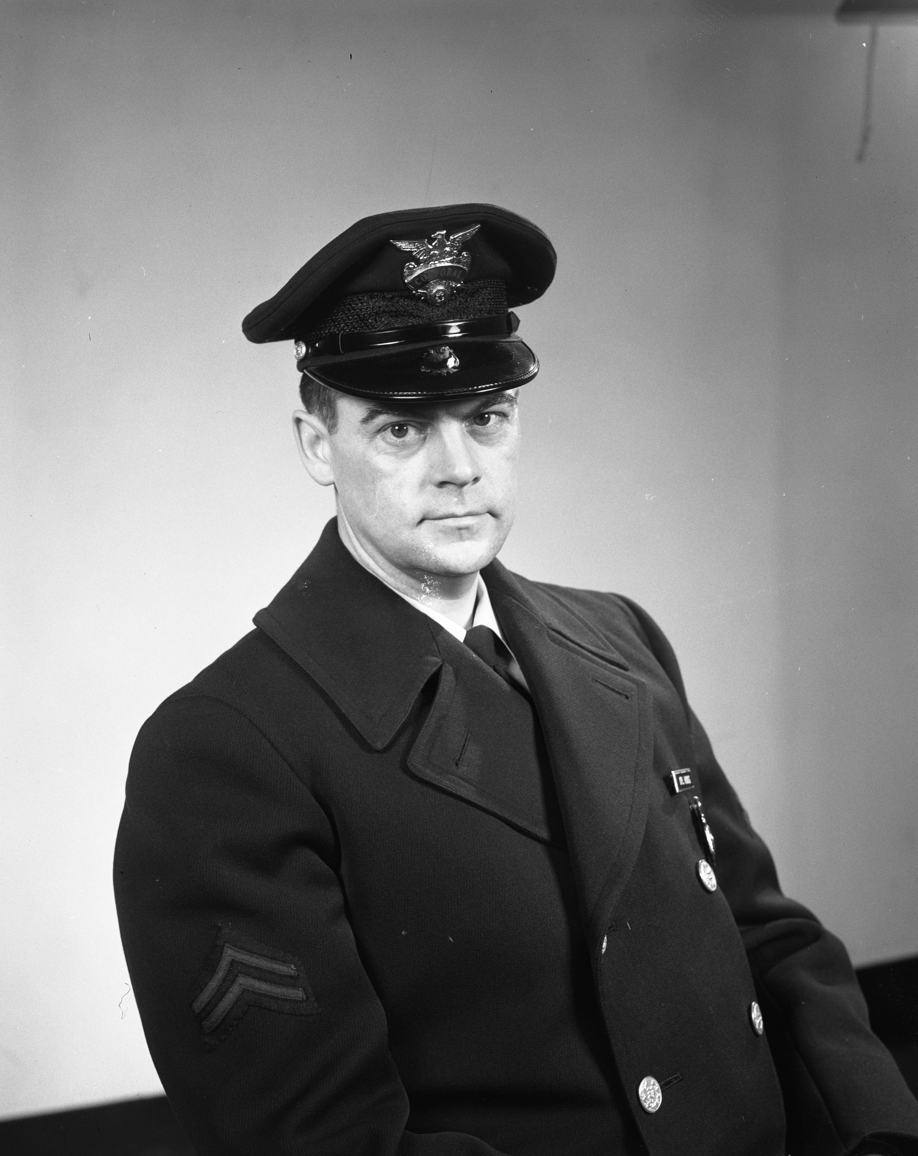 Ann Arbor Police Department Detective Sgt. Henry C. Hicks, February 1963 image
