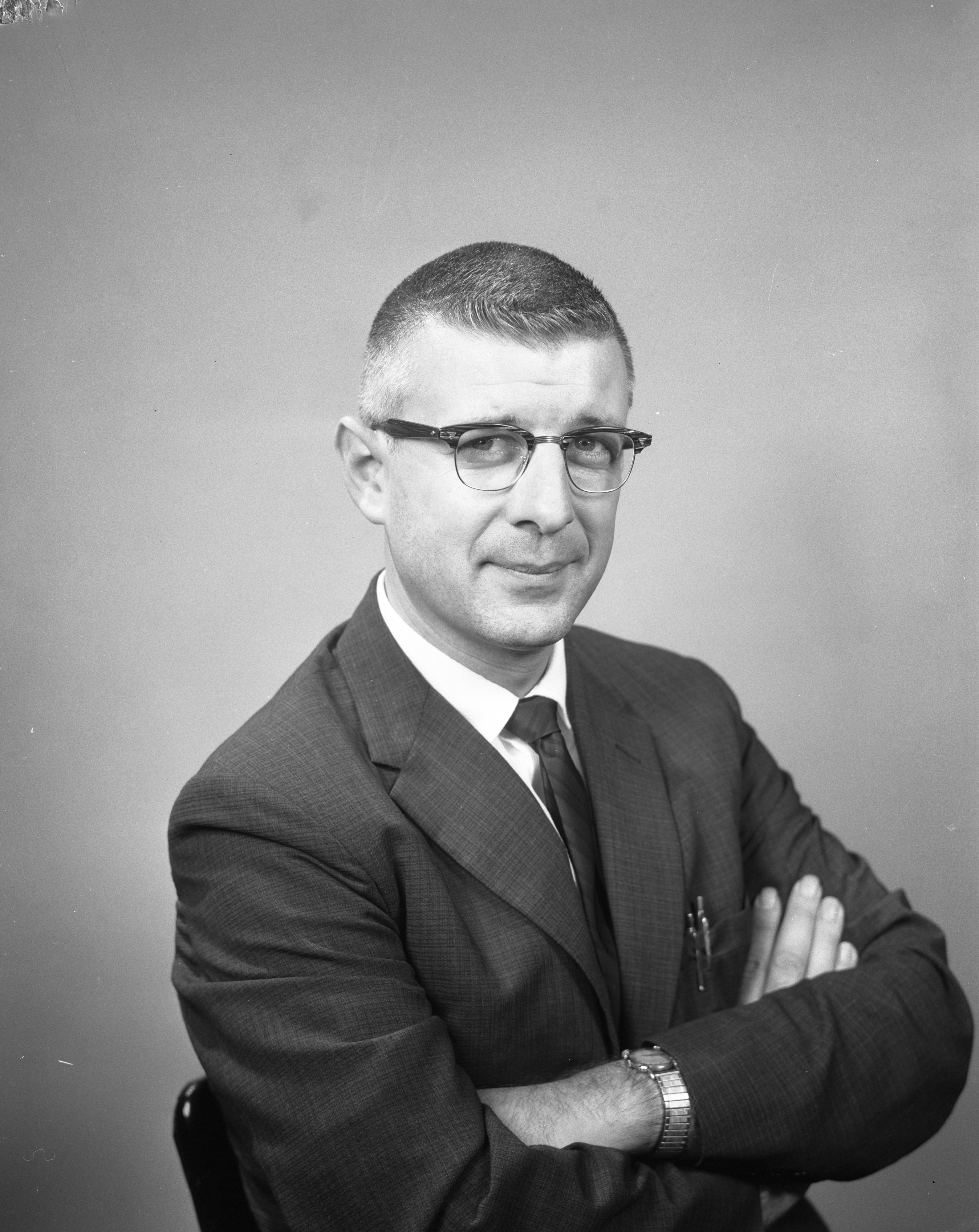 Ann Arbor Police Department Detective Sgt. Richard G. Hill, July 1962 image