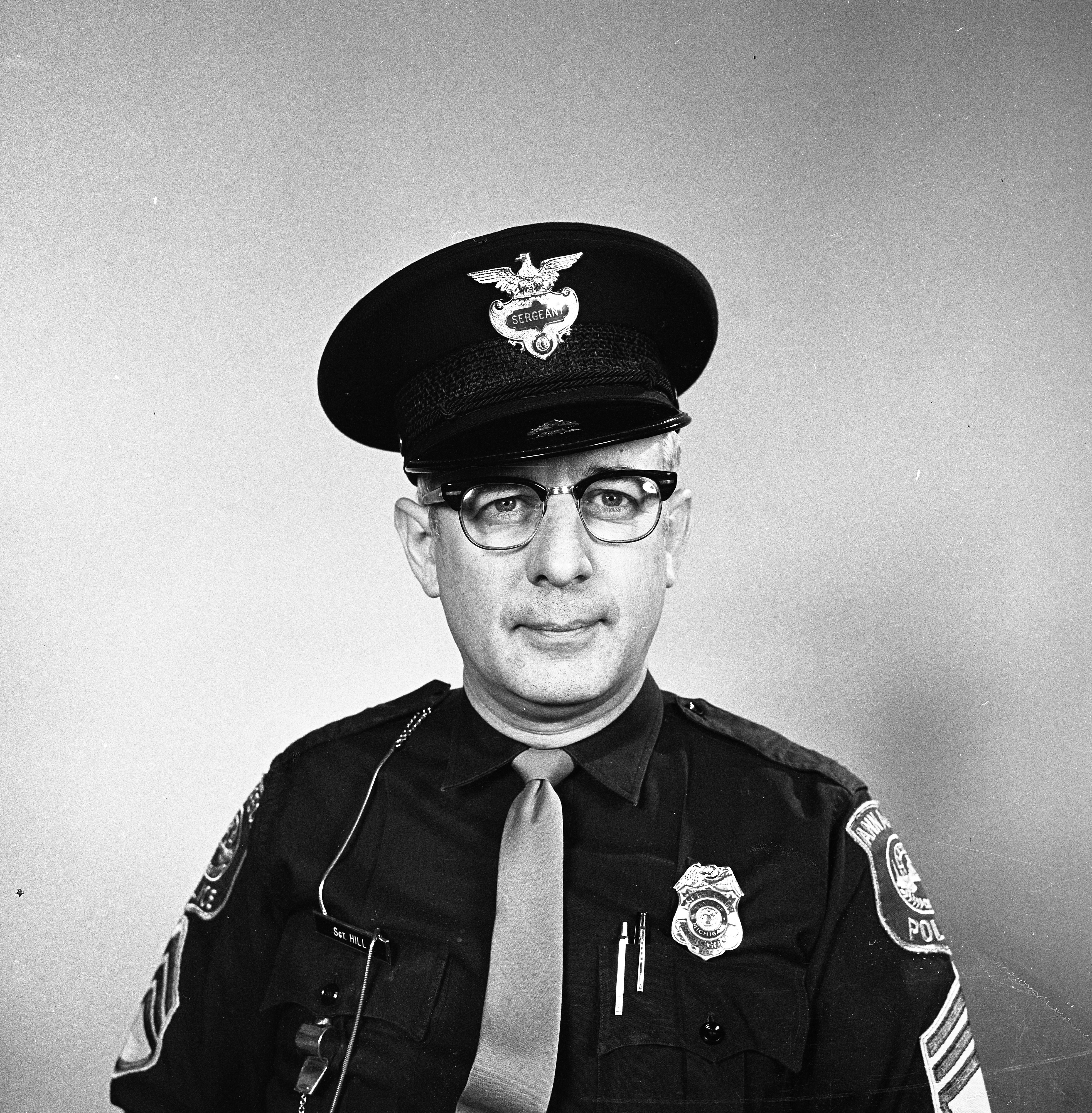 Ann Arbor Police Department Sgt. Richard G. Hill, May 1970 image