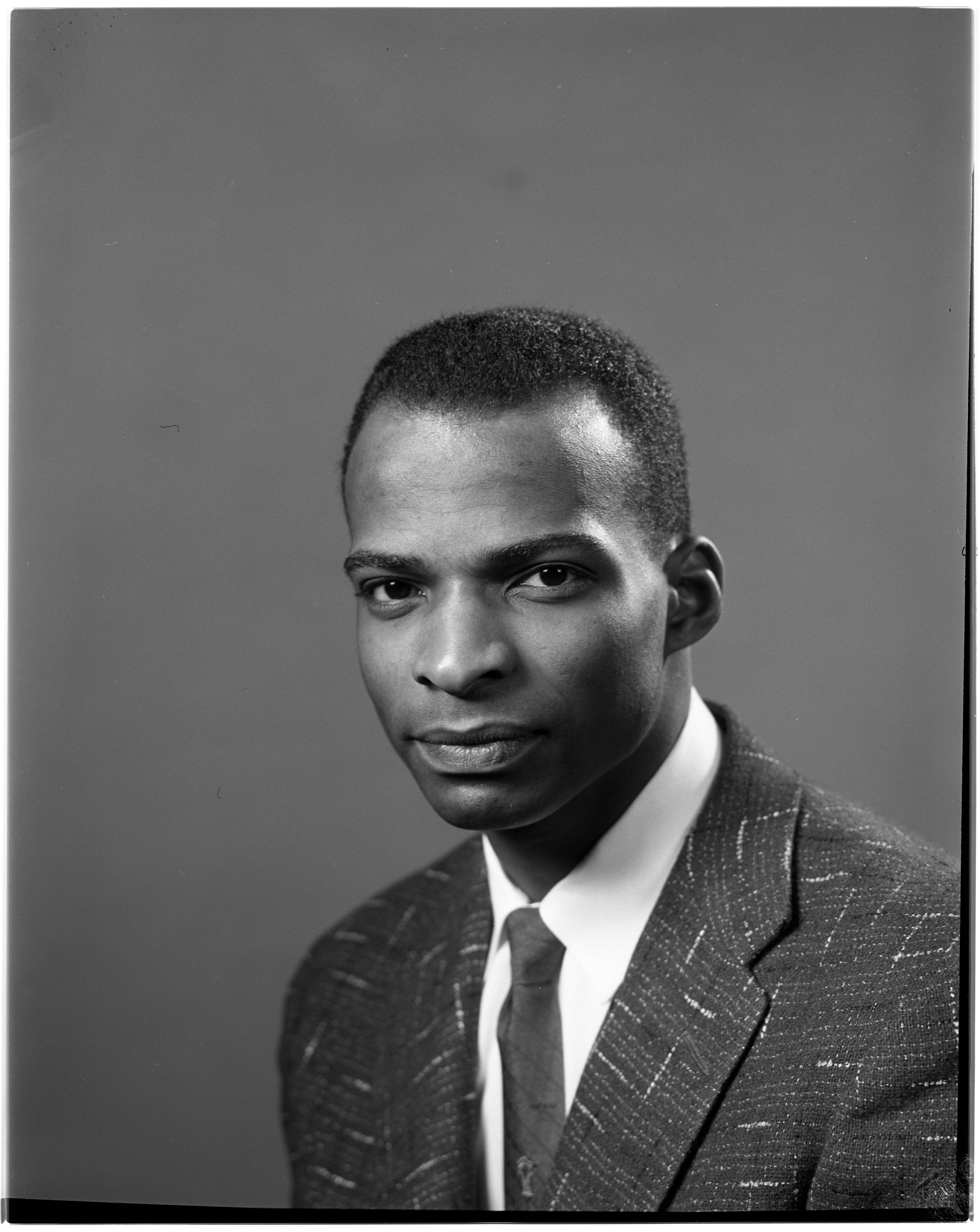 Portrait of James Horn, March 1956 image