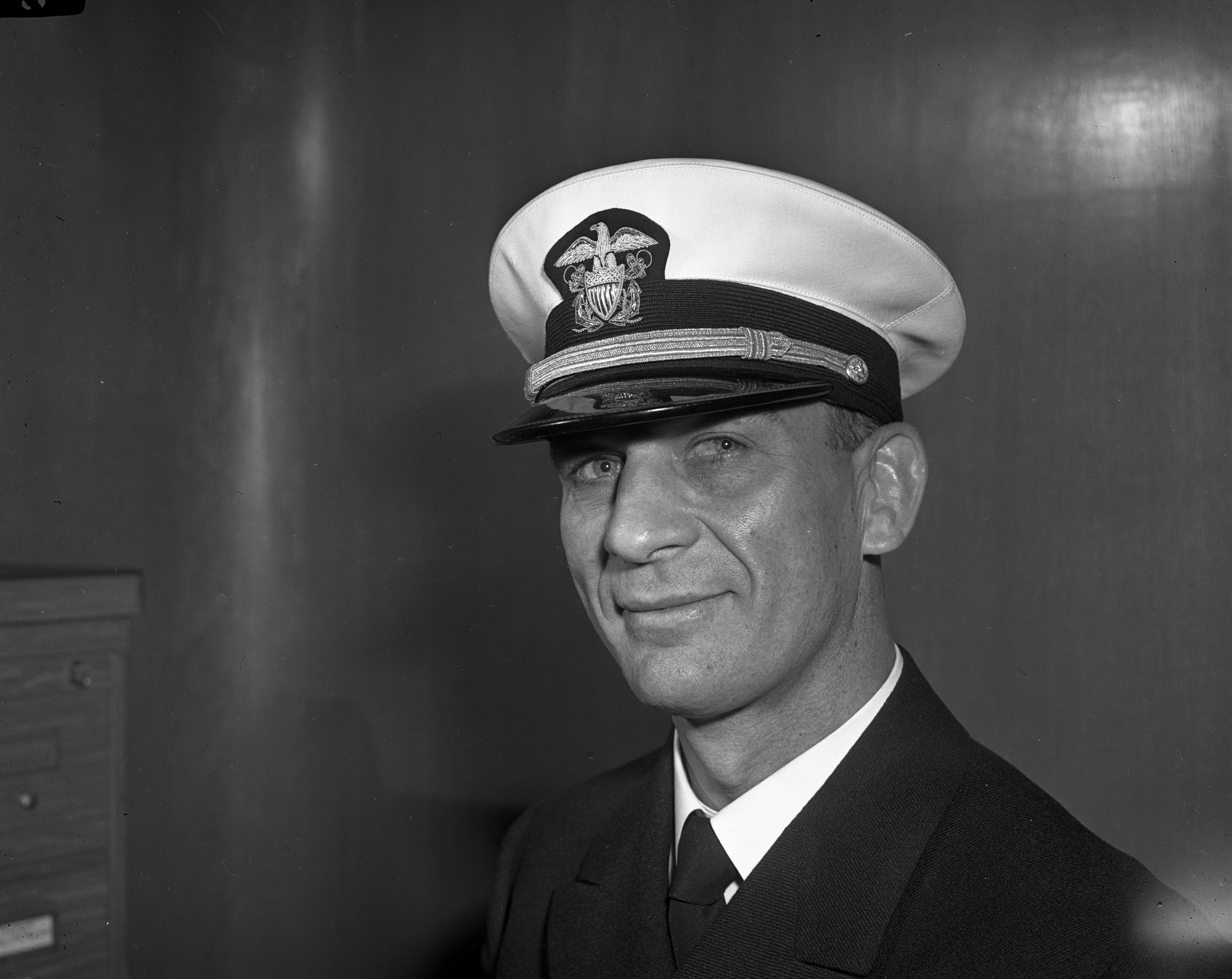 Lieutenant Commander Cliff Keen, USN, May 1942 image