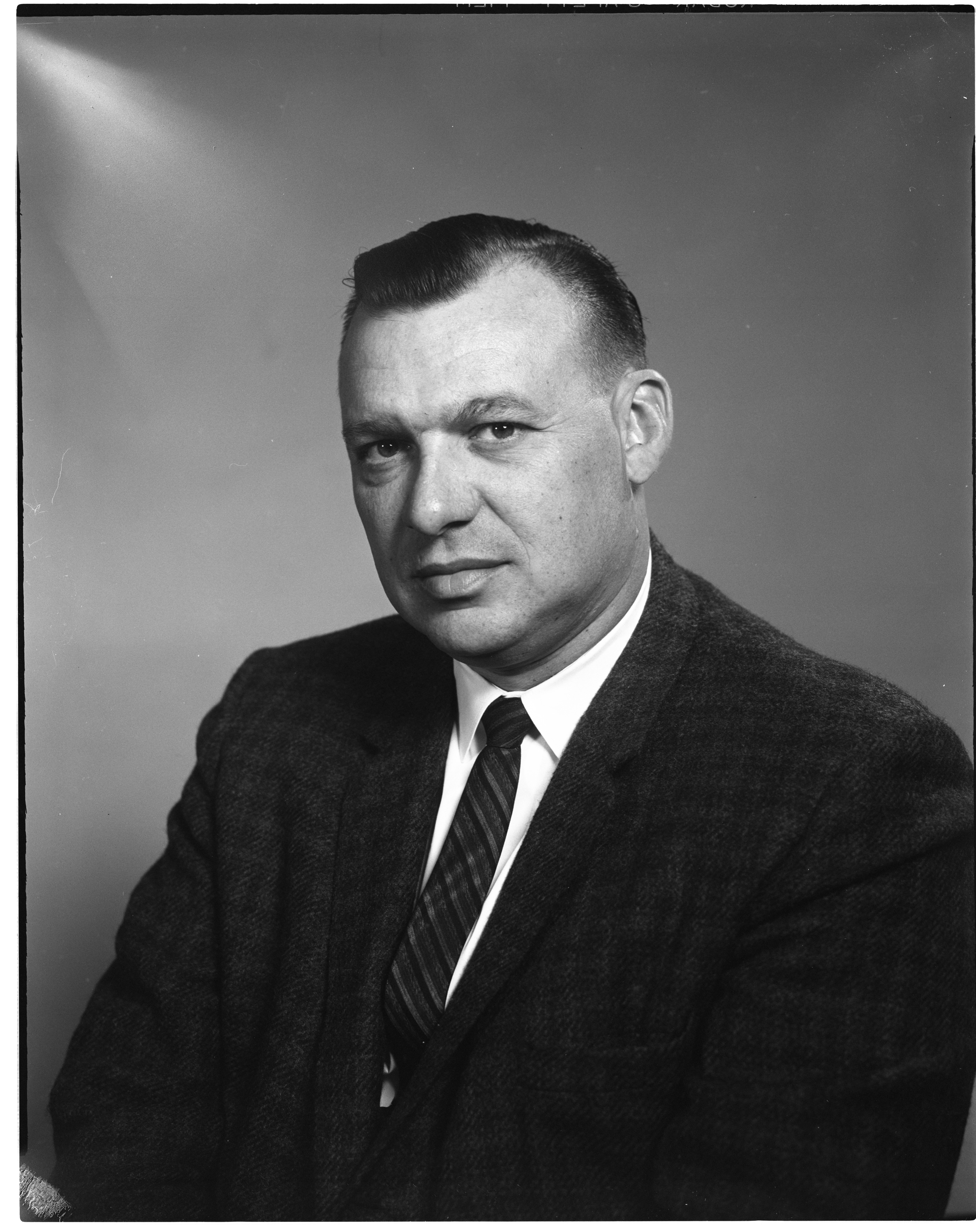 Philip Kratzmiller - Newly Elected Ann Arbor Lions Club President, May 1964 image
