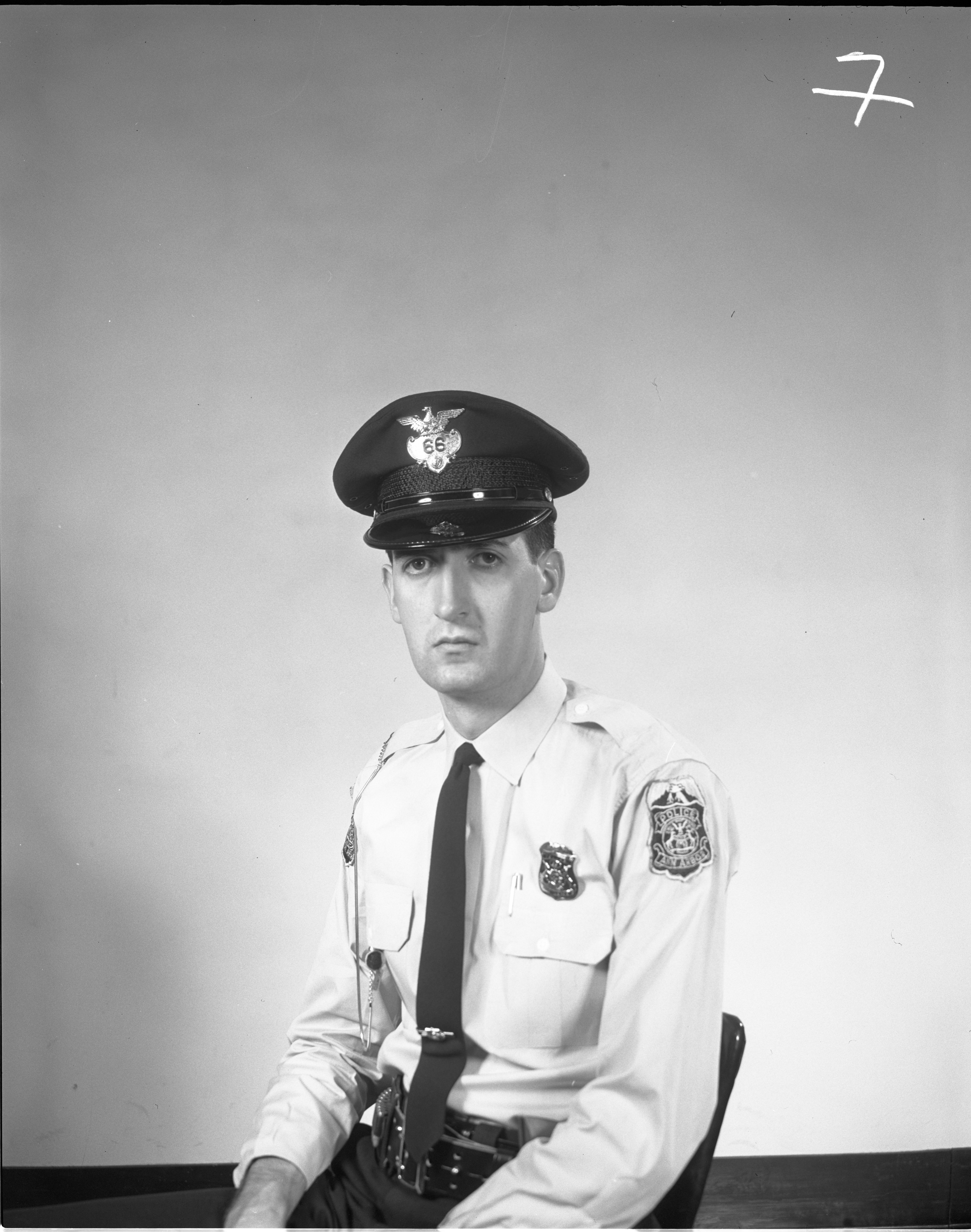 Ann Arbor Police Officer Lanny K. Lakowsky, May 1964 image