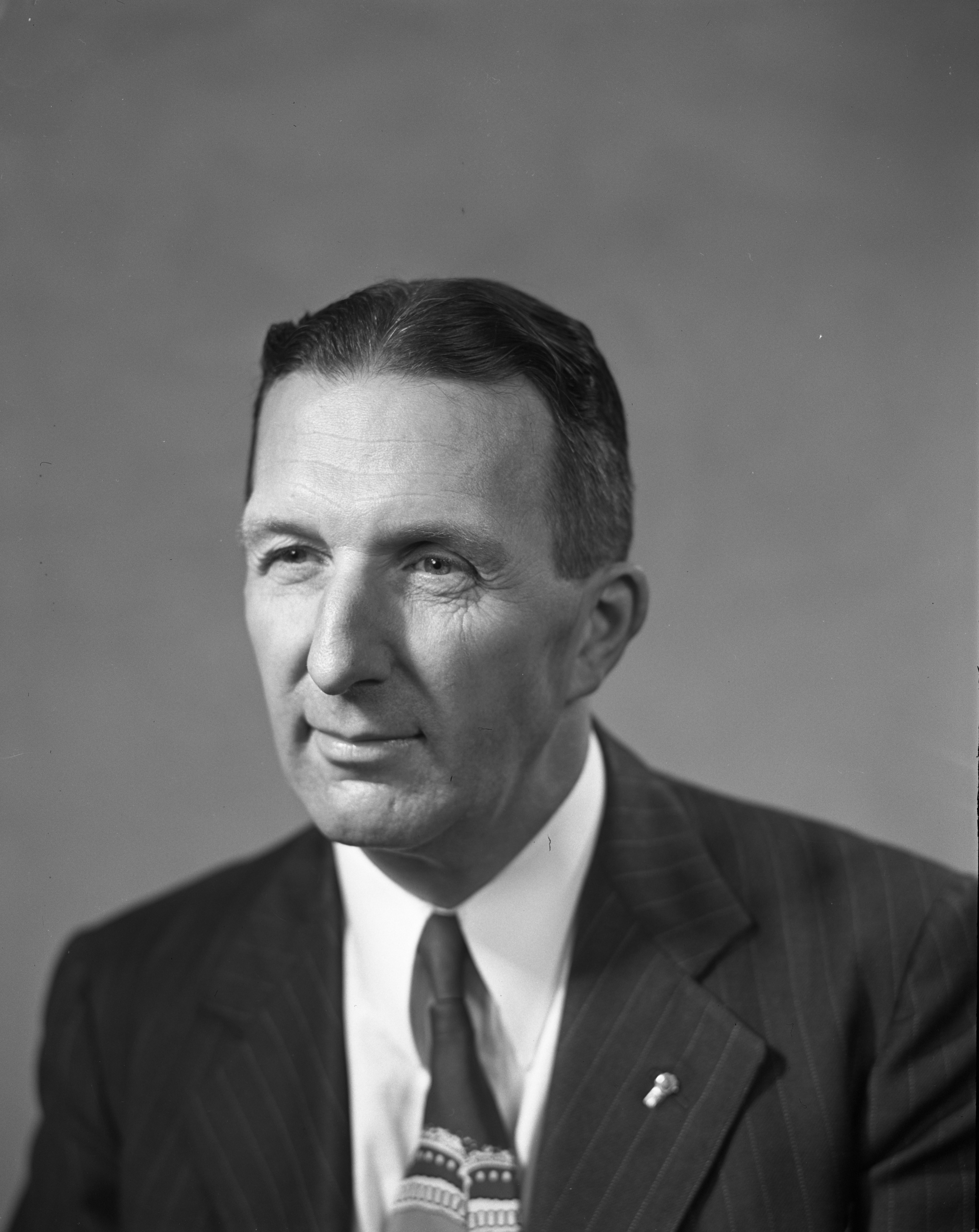 Fred Looker, appointed Ann Arbor City Clerk, November 1949 image