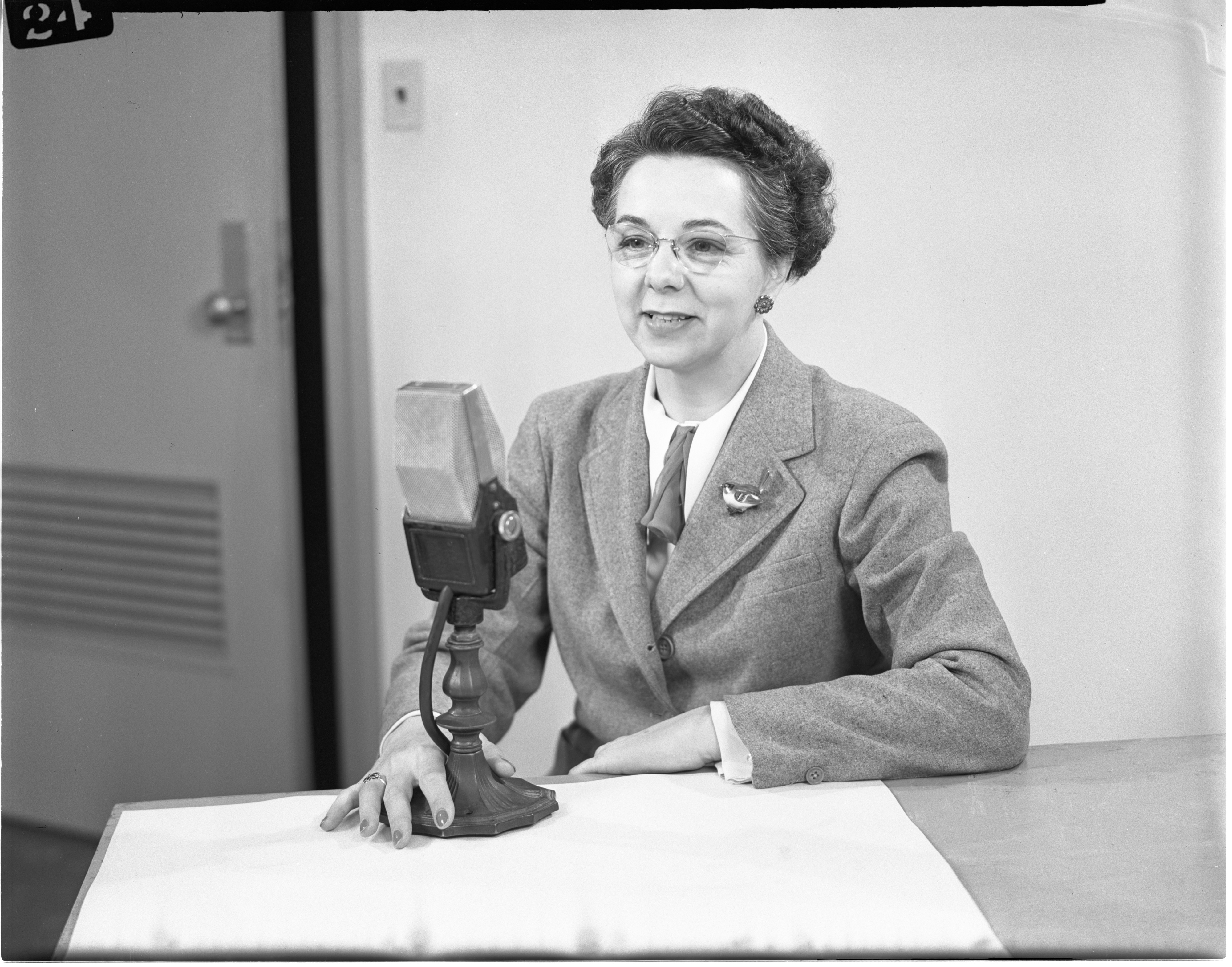 Margaret Nickerson Martin, National Radio Chairman For The American Federation Of The Physically Handicapped, May 1948 image