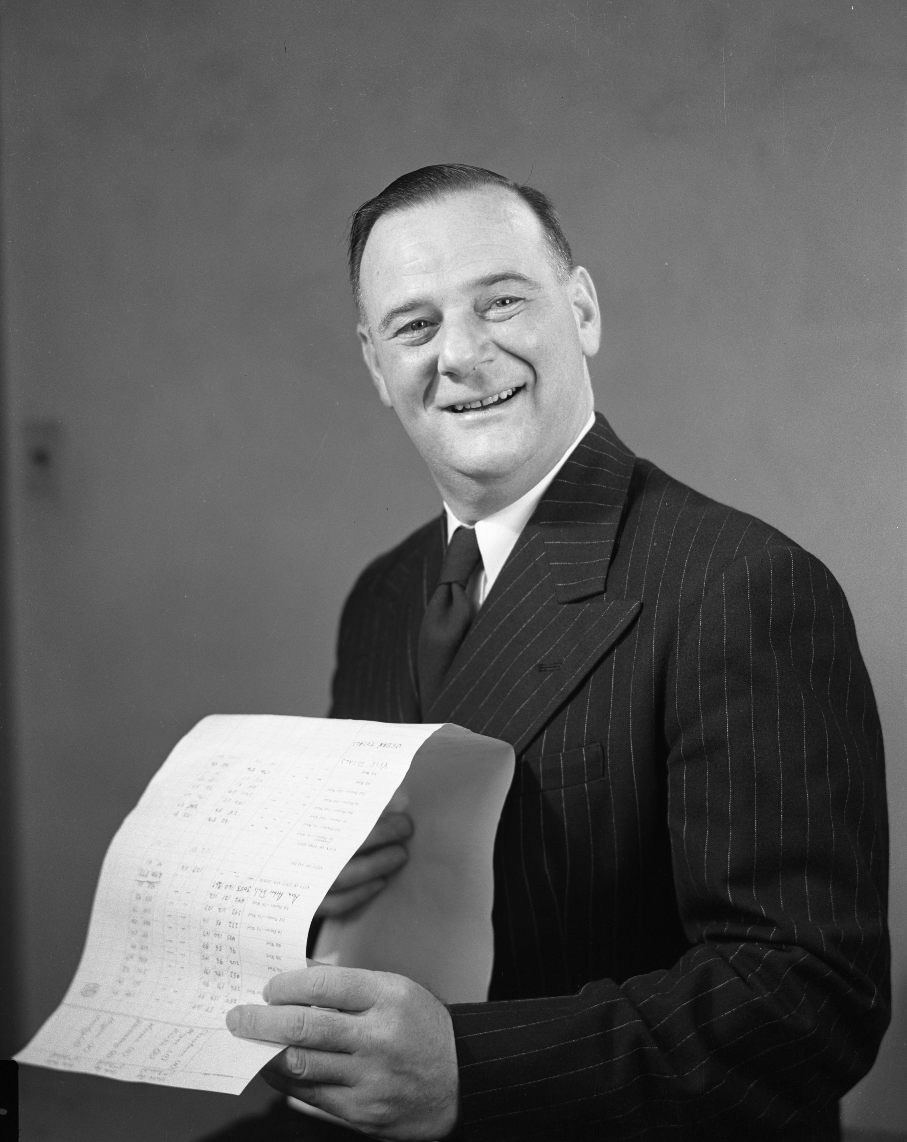 George Meader, Republican congressman from the Second Michigan District, November 1950 image