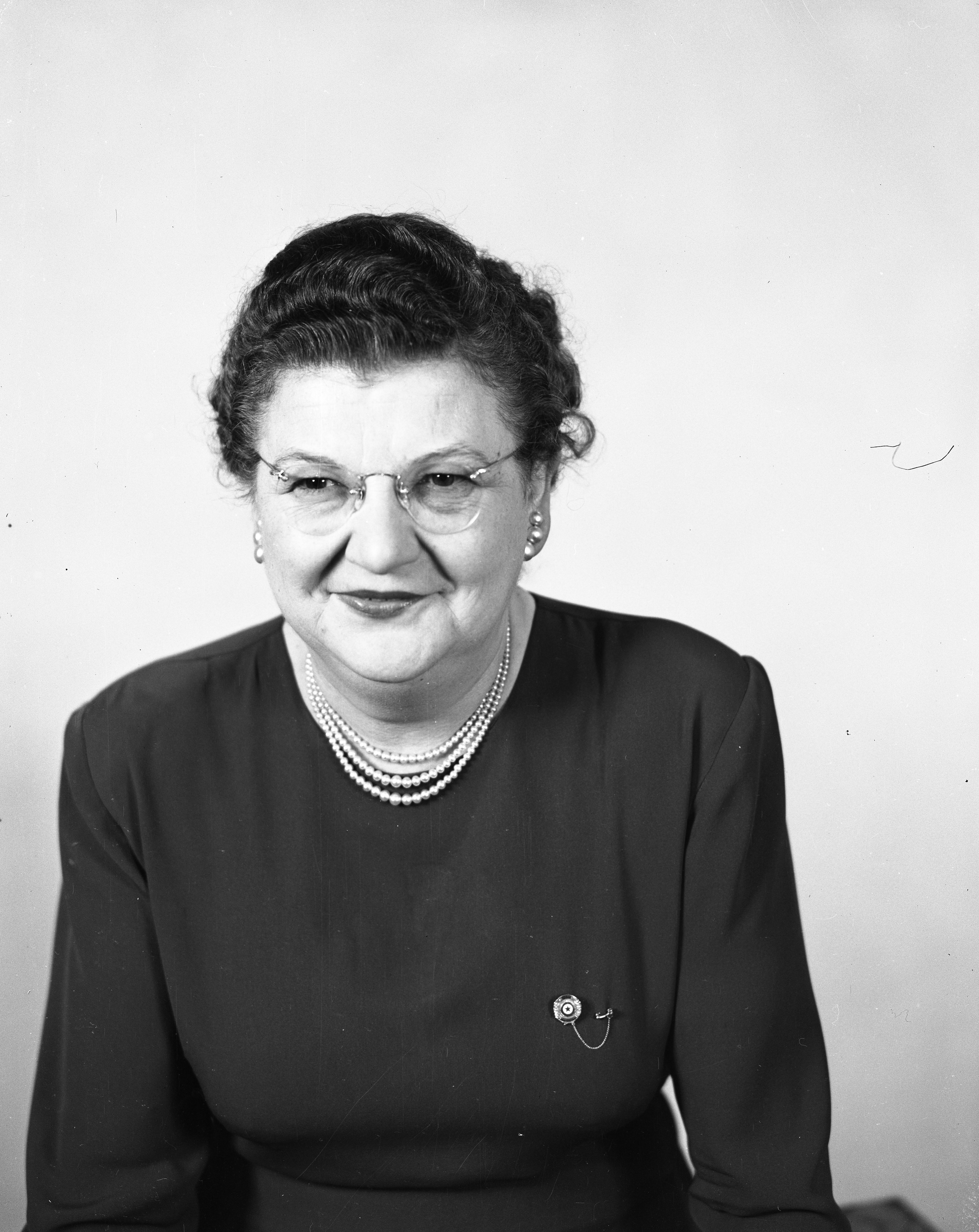Gertrude Nickels, February 1950 image