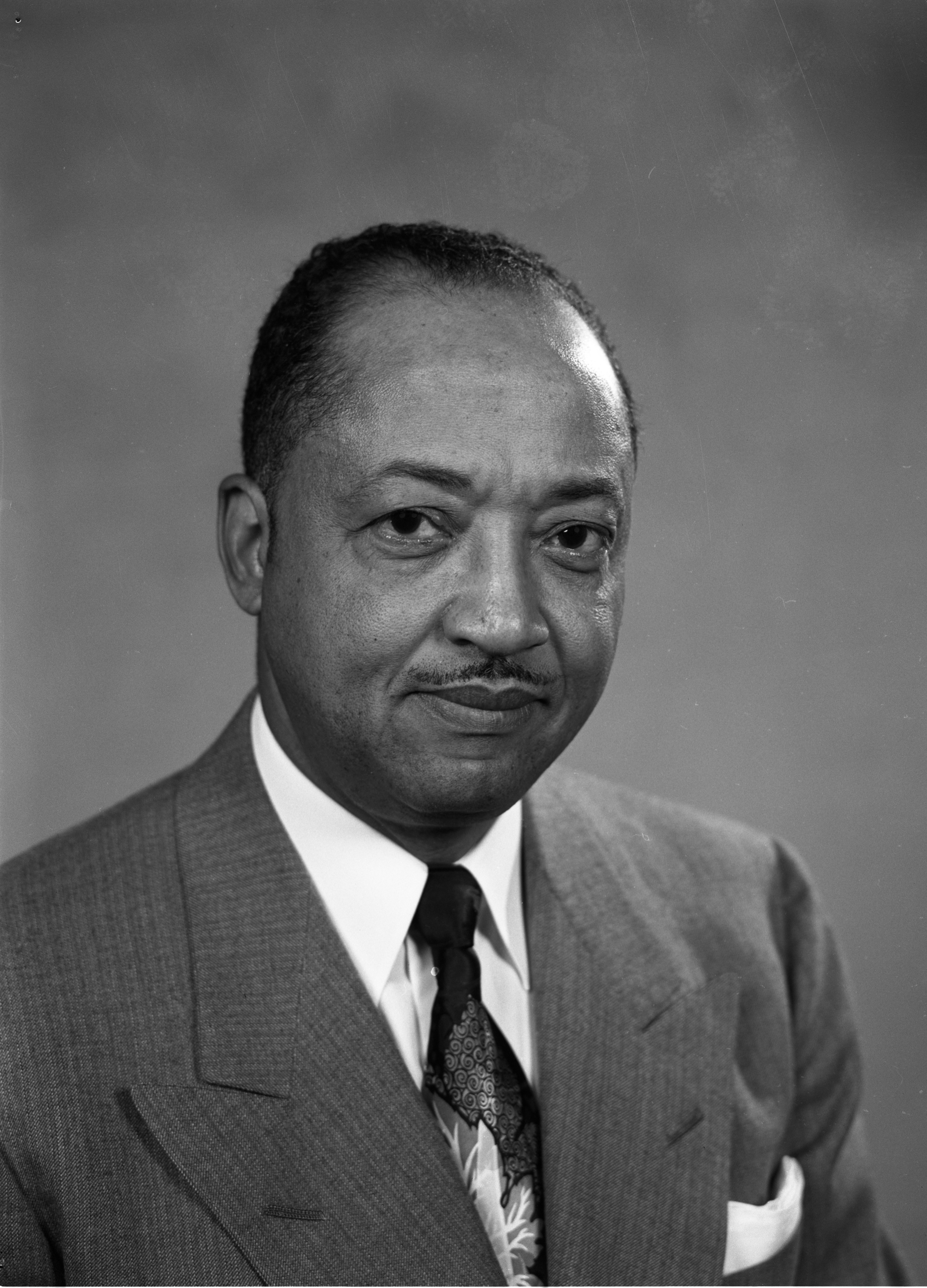 Dr. Lawrence C. Perry, May 1954 image