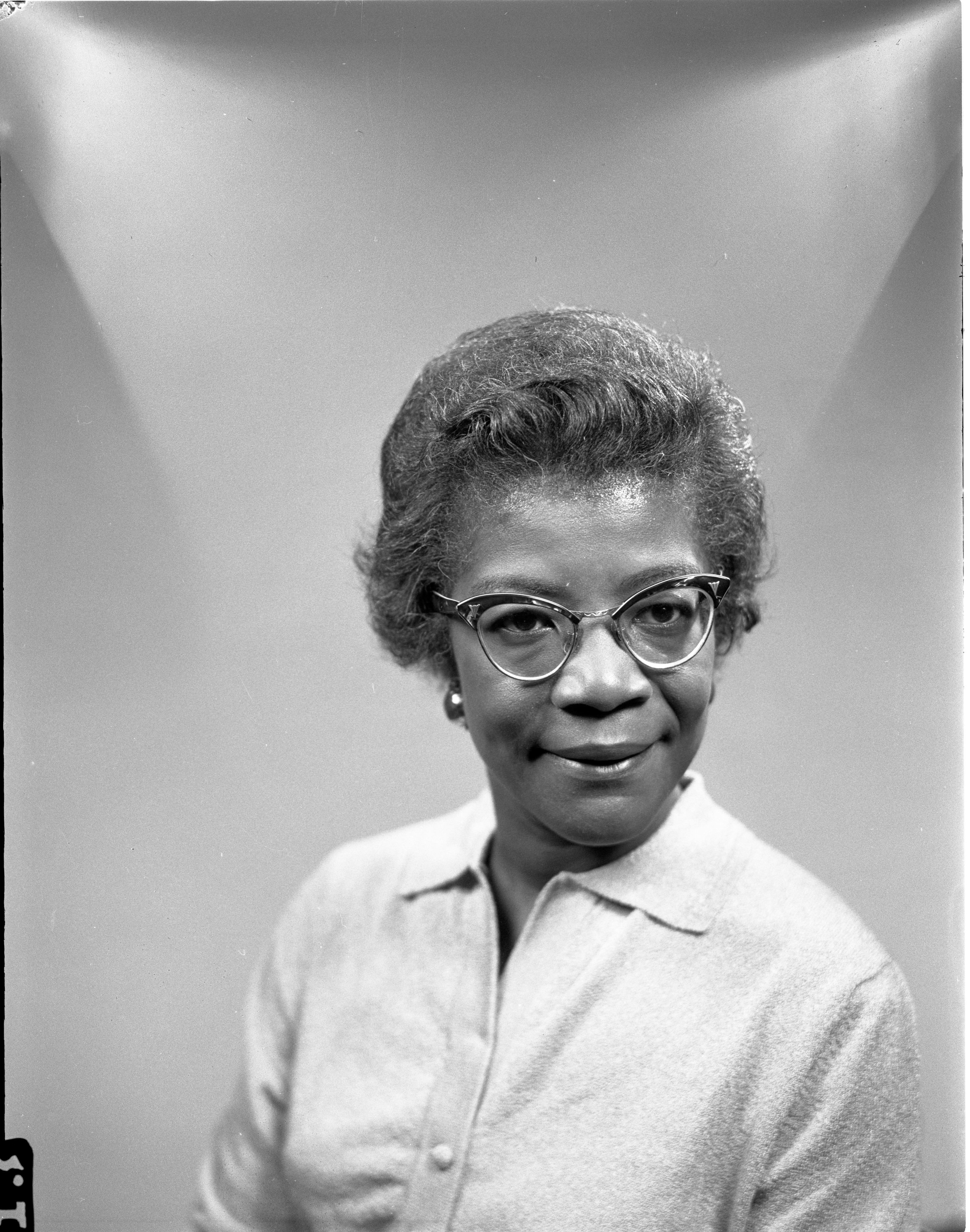 Miss Emma J. Pratt - New Program Director At The Ann Arbor Community Center, September 1962 image