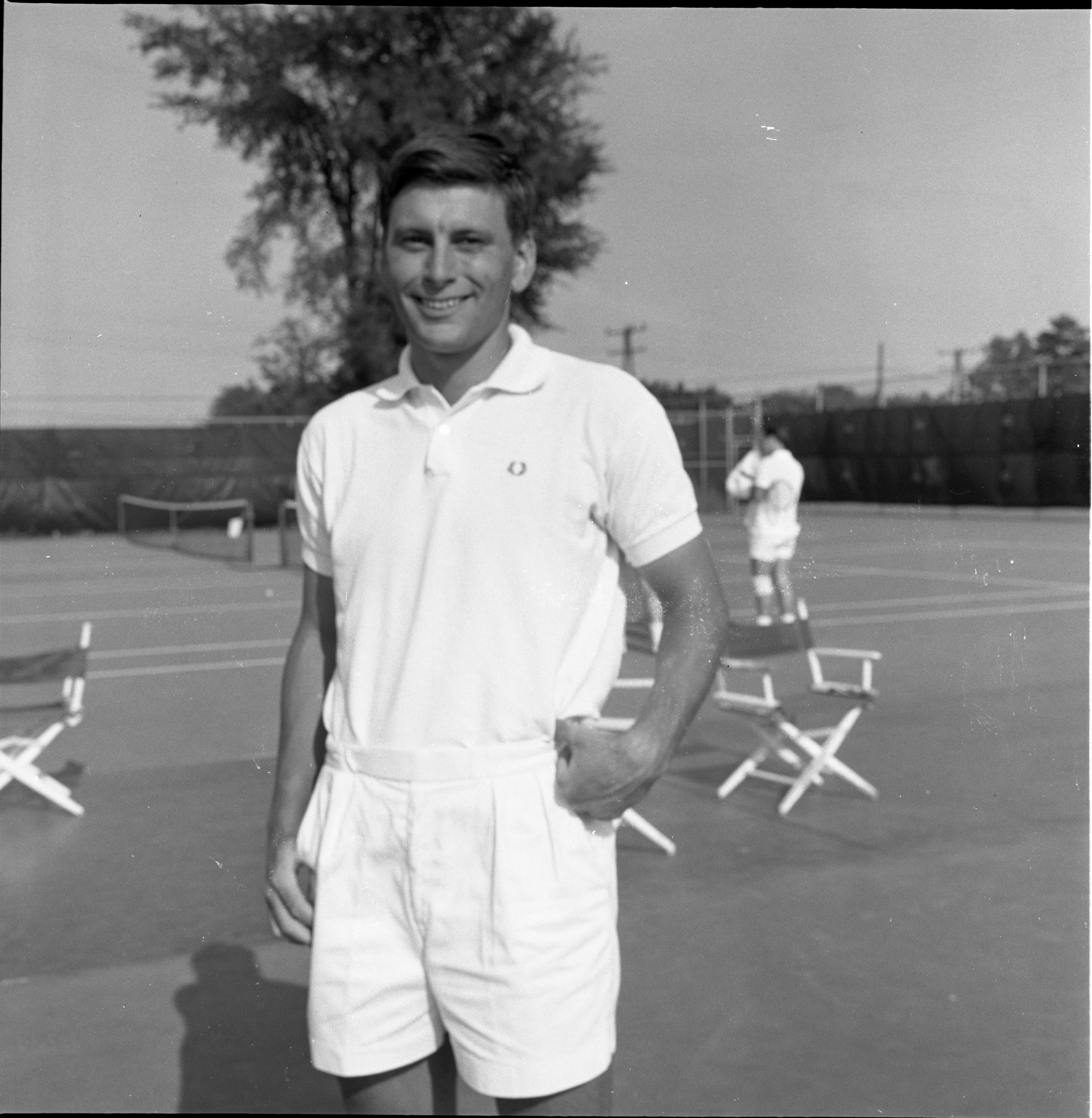 George Smillie - Men's Singles Champ, Ann Arbor City Tennis Tournament - July 1967 image