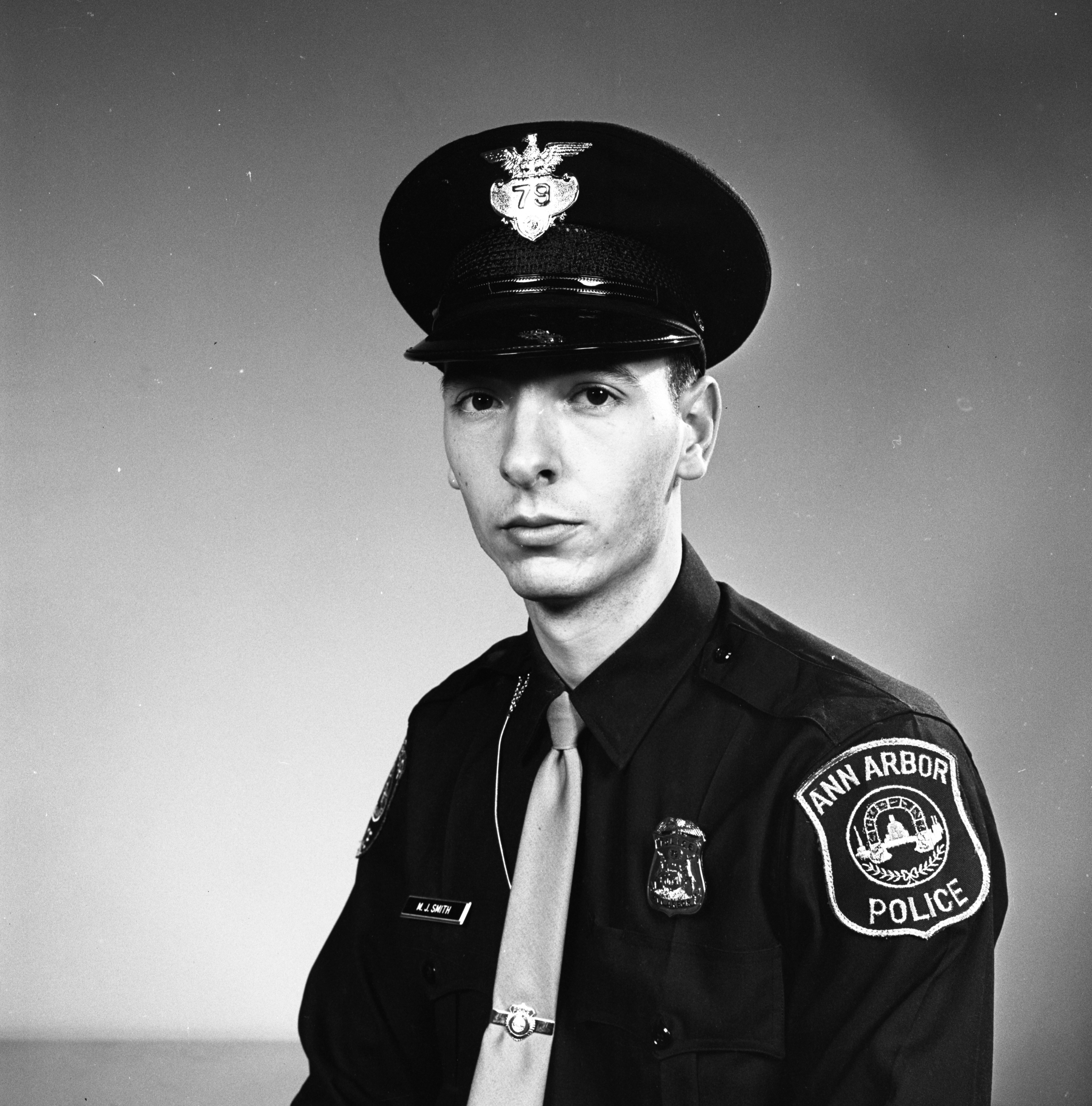 Ann Arbor Police Officer Michael J. Smith, November 1967 image