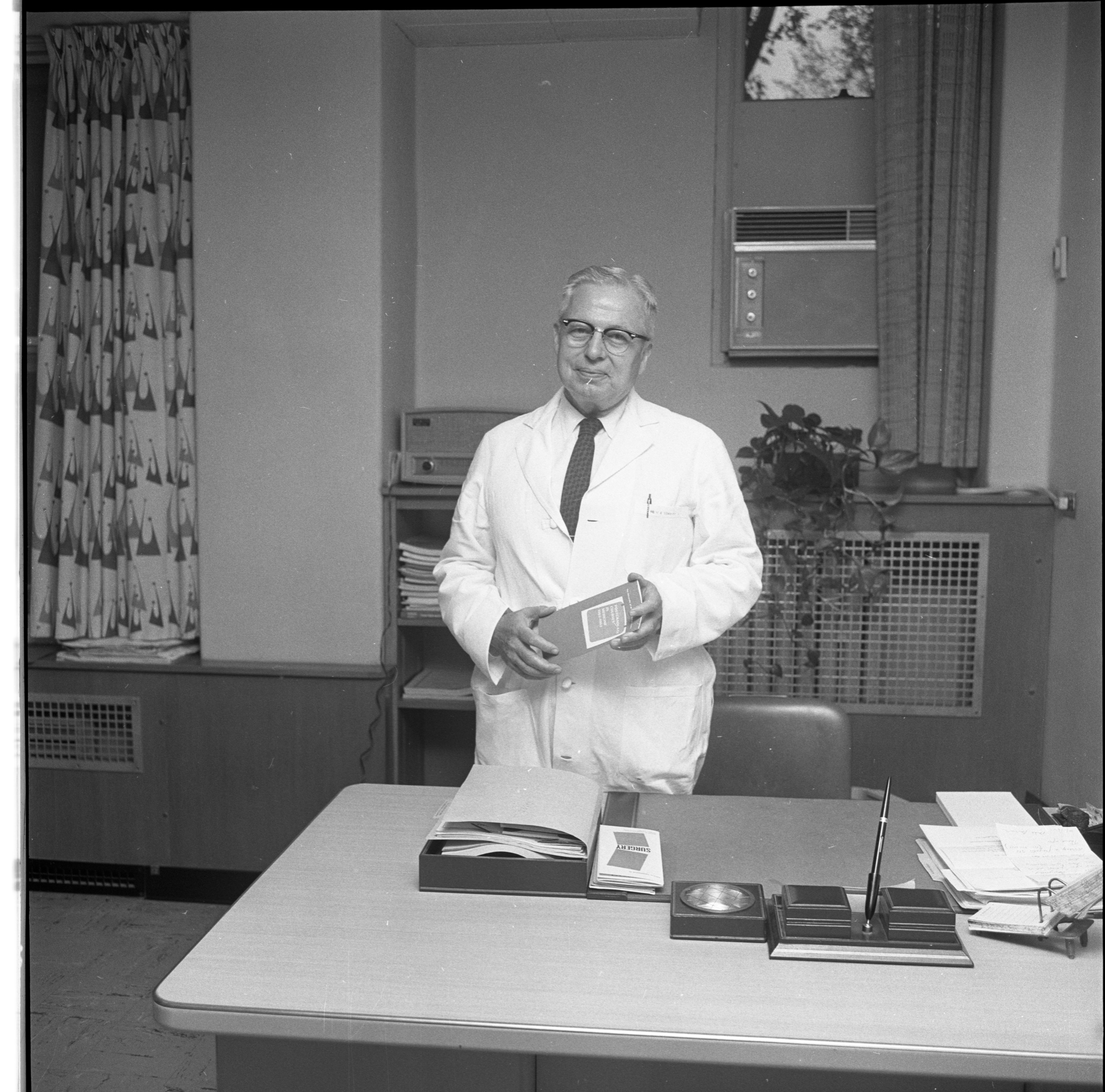 Dr. Harry A. Towsley, October 9, 1962 image
