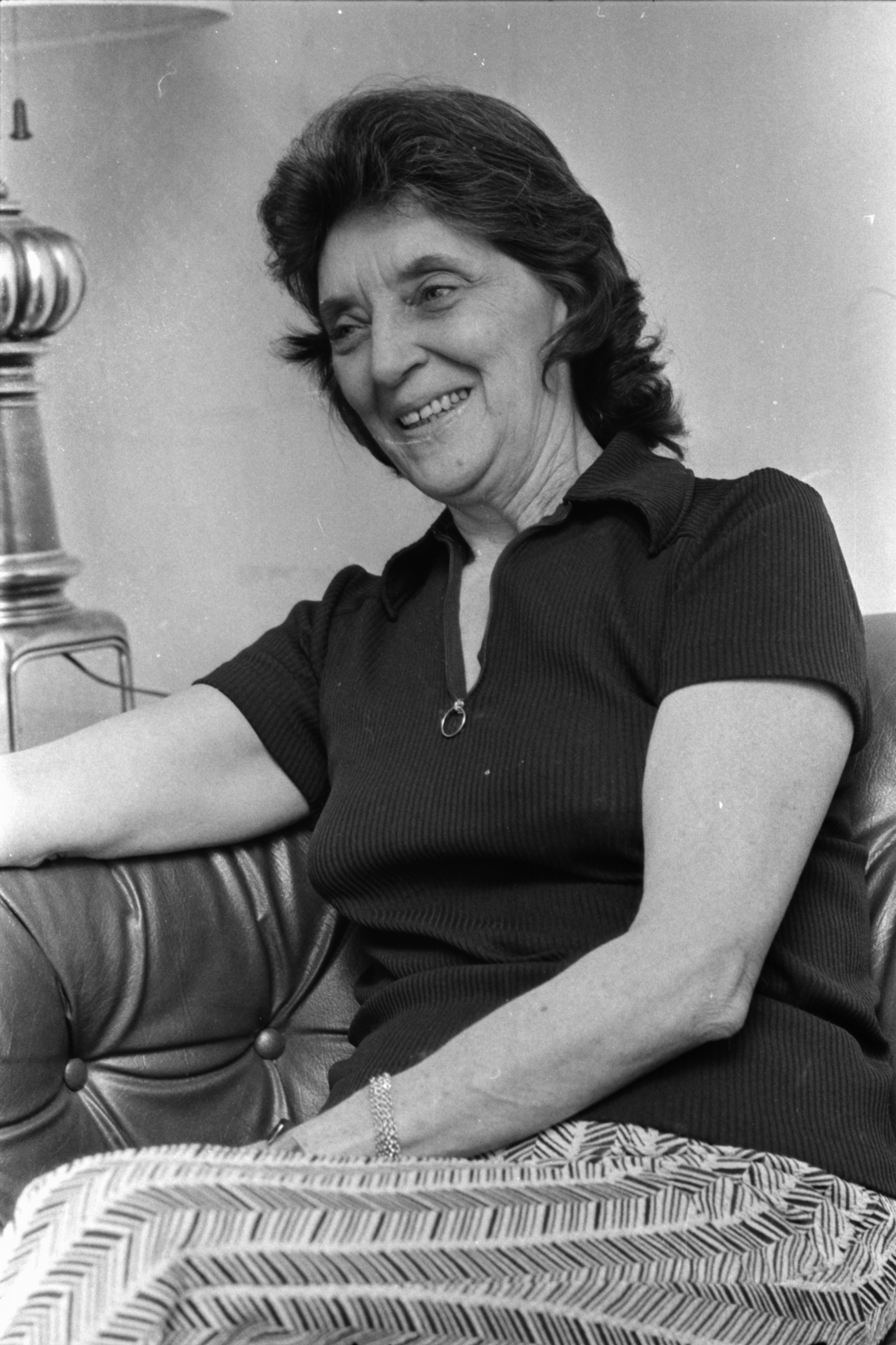 Virginia Warner, mother of POW Marine Captain James H. Warner, January 1973 image