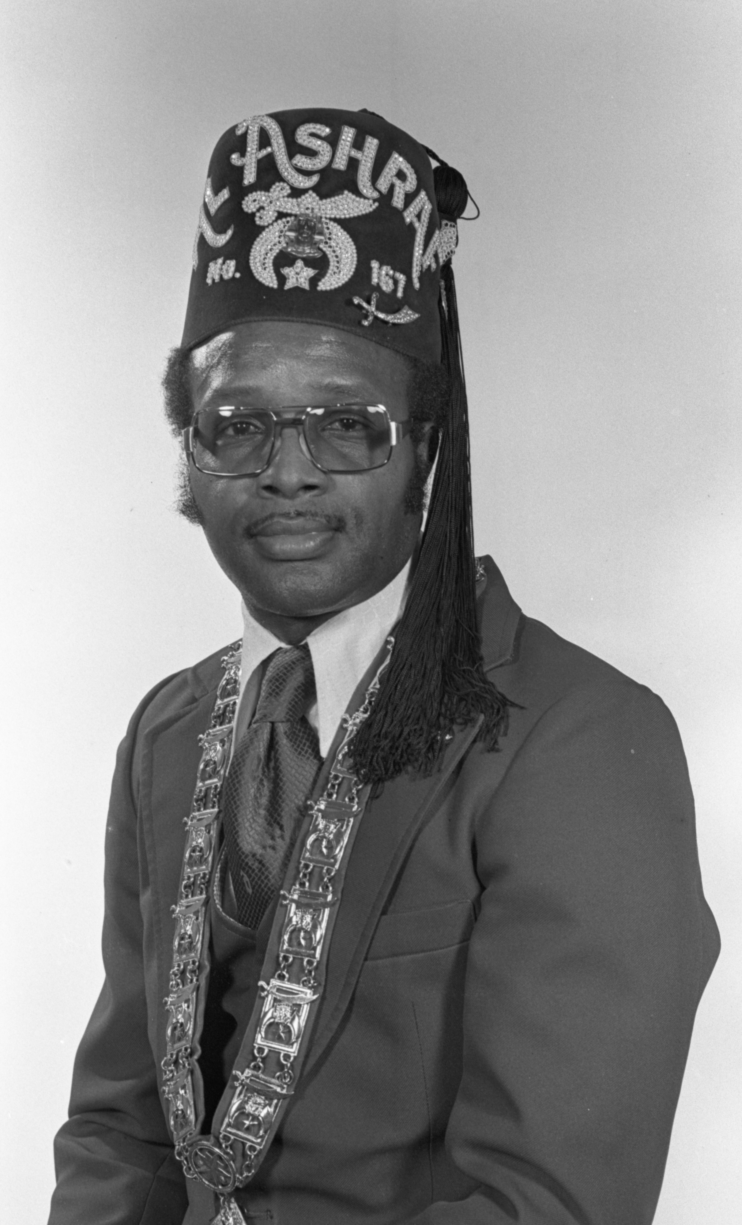 Horace C. Williams - Newly Installed Illustrious Potentate Of Al Ashraf Temple No. 167, December 1978 image