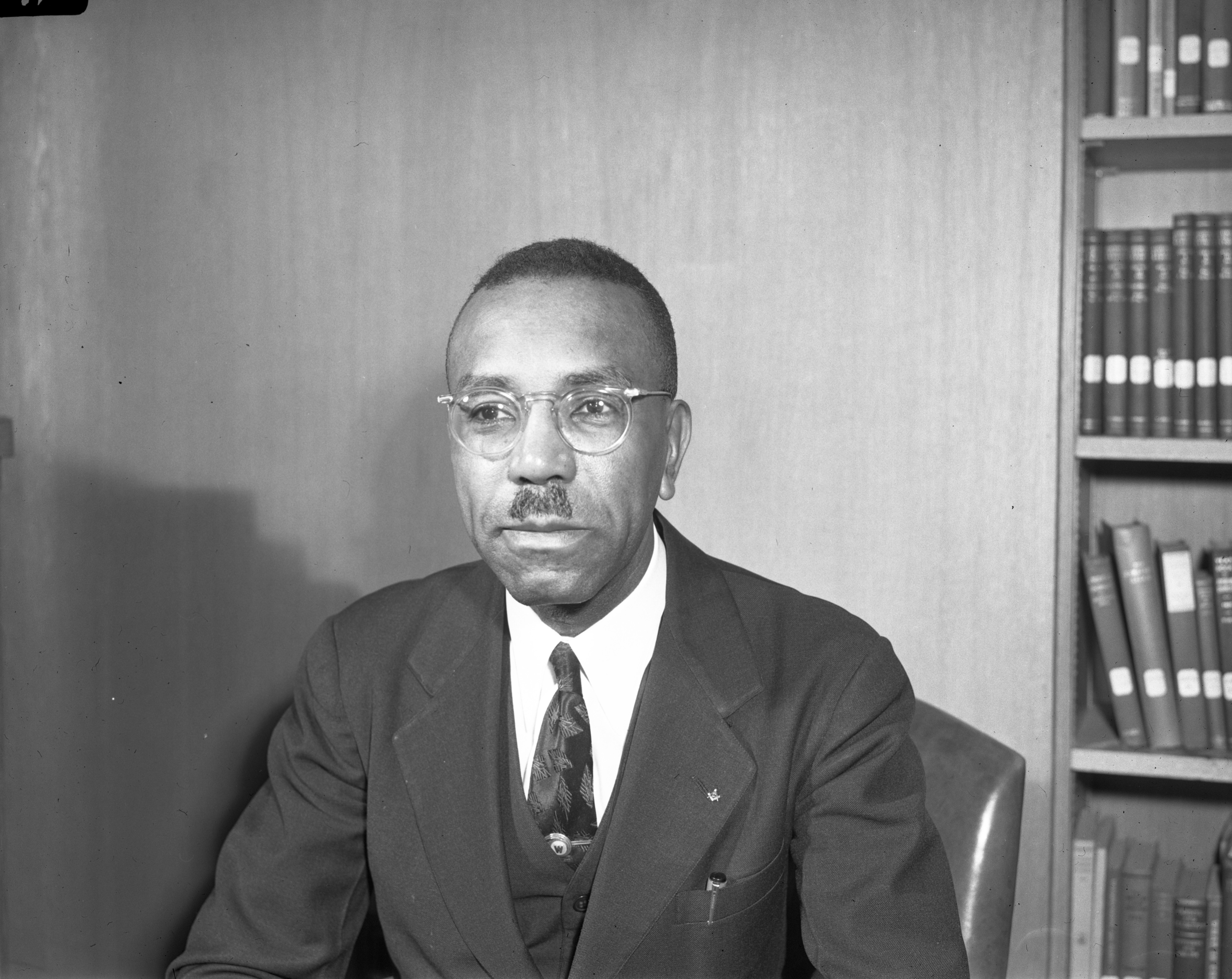 Rev. John W. Wright, Bethel AME Church, May 1943 image