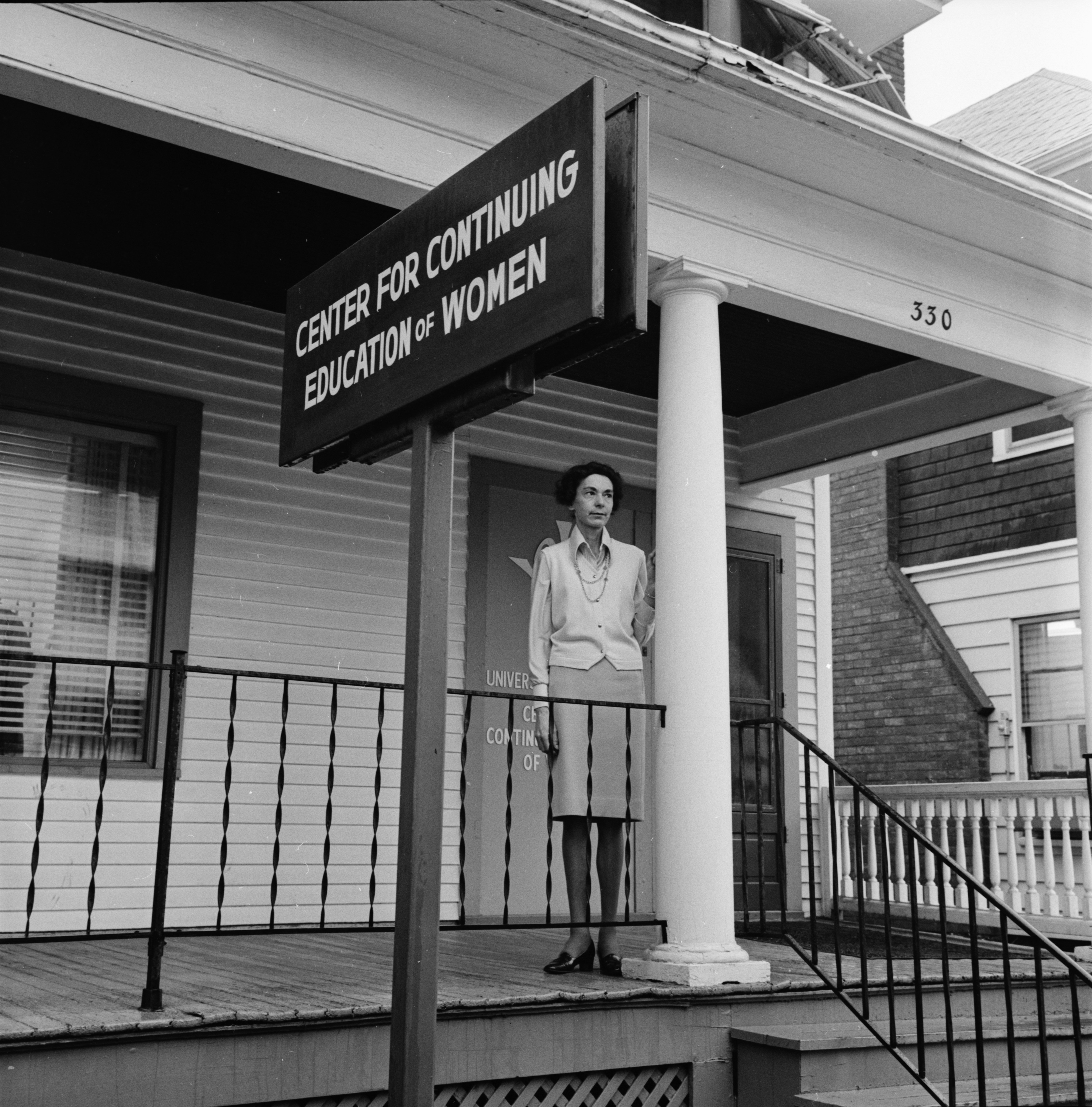 Patricia Wulp, assistant director of the Center for the Education of Women (CEW), May 1974 image