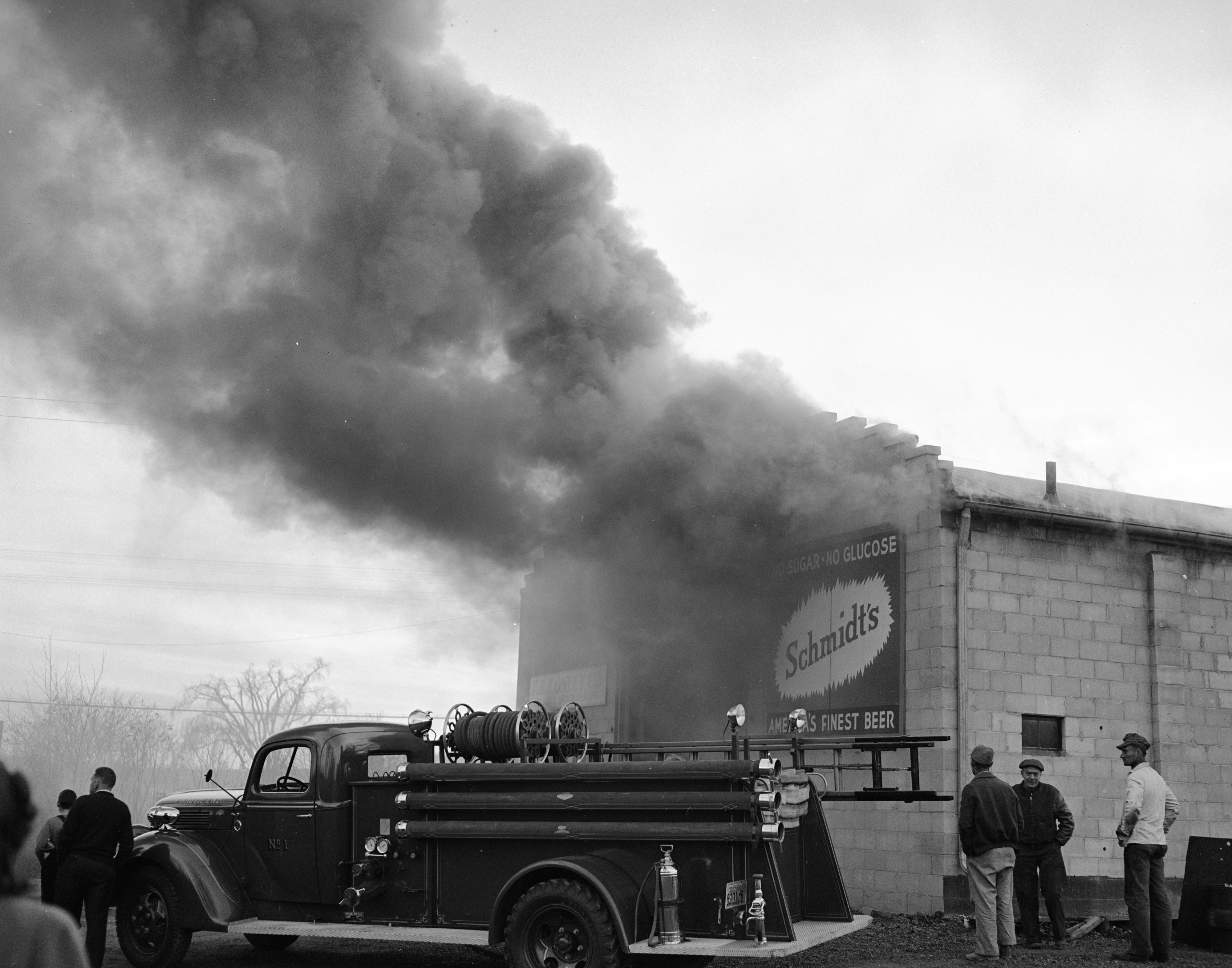 Fire At The F. H. Conley Co. Building, November 1940 image