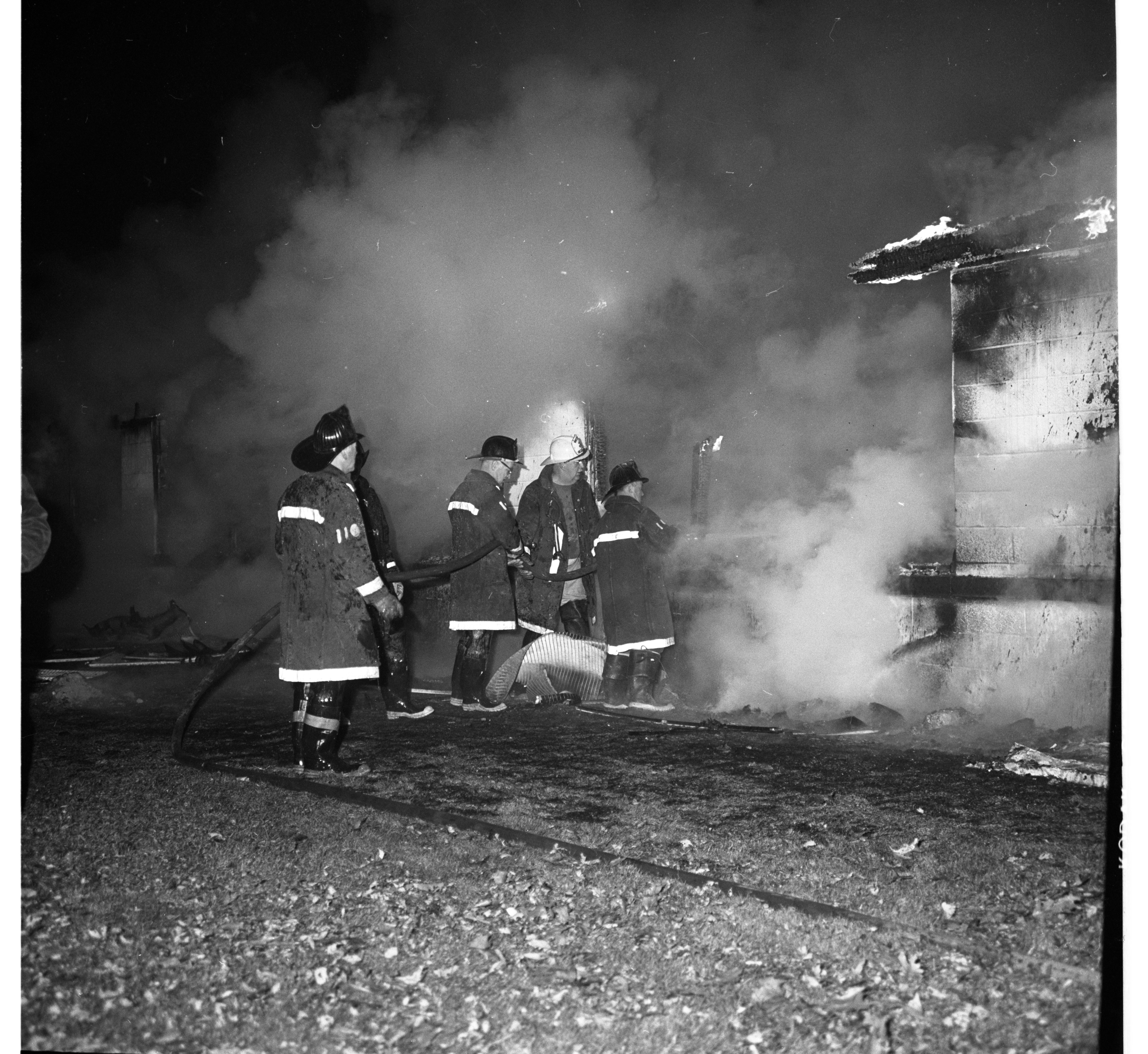 Applied Dynamics International  Plant In Scio Twp. Destroyed In Fire, November 1968 image
