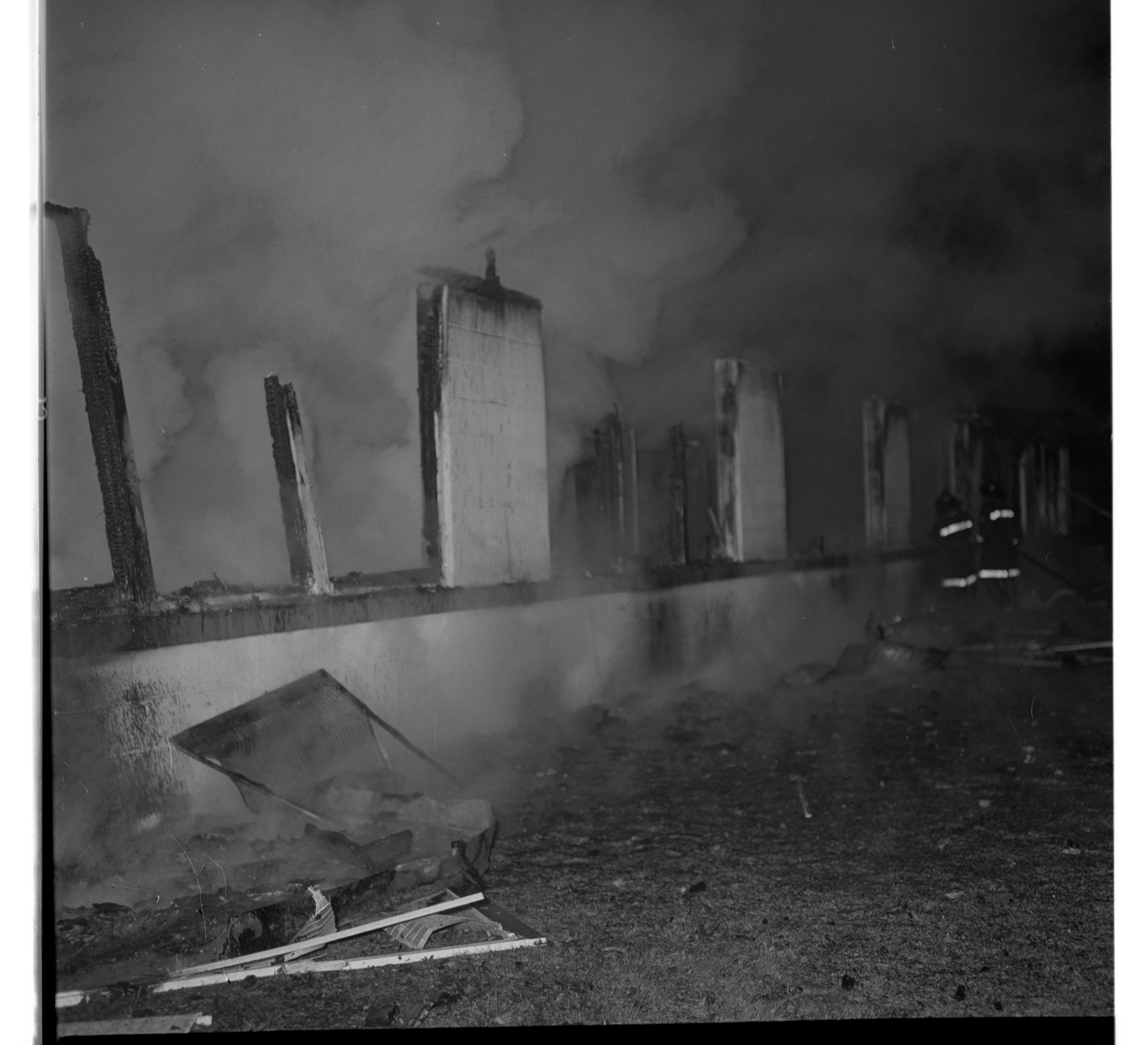 Fire Causes Near Complete Destruction of Applied Dynamics International  Plant In Scio Twp., November 1968 image