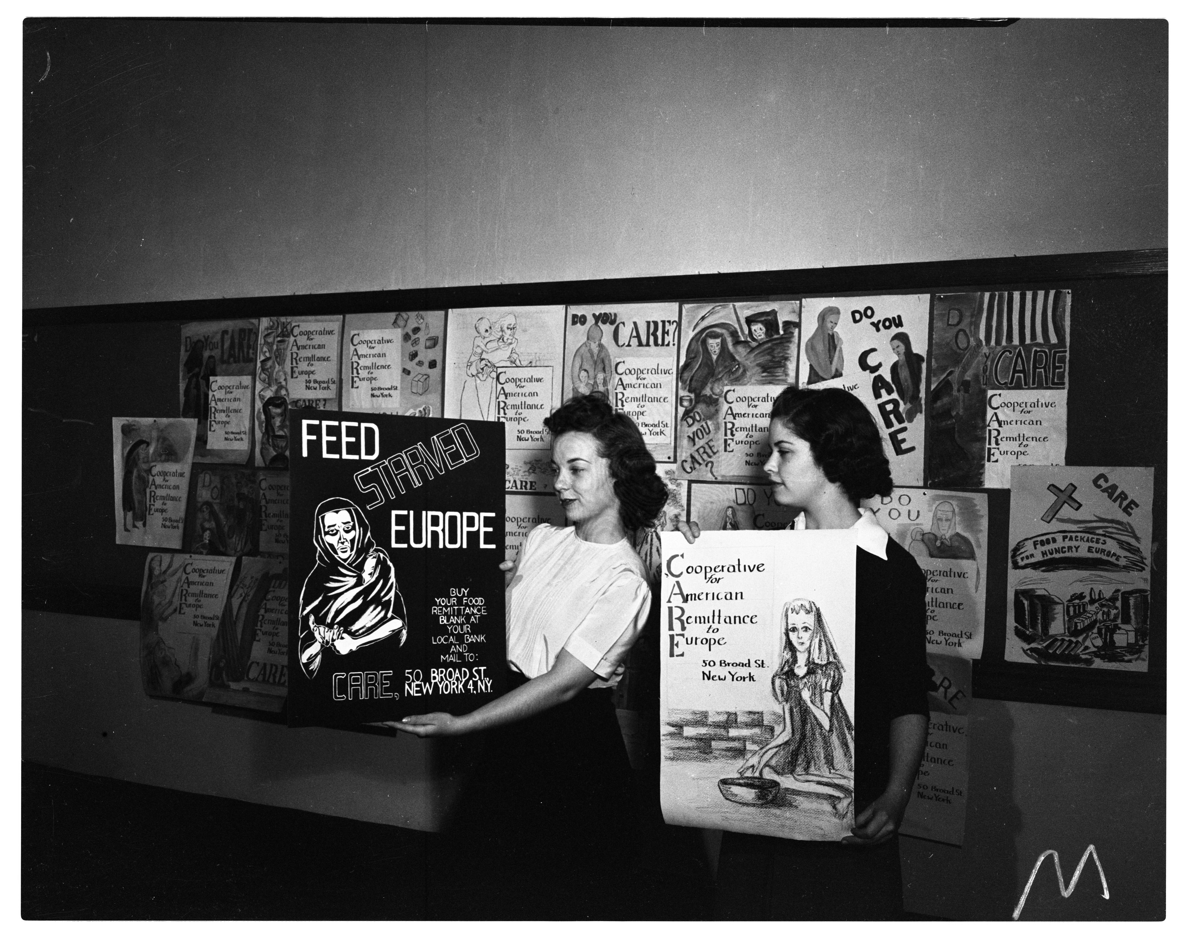Poster Contest for CARE, October 1946 image
