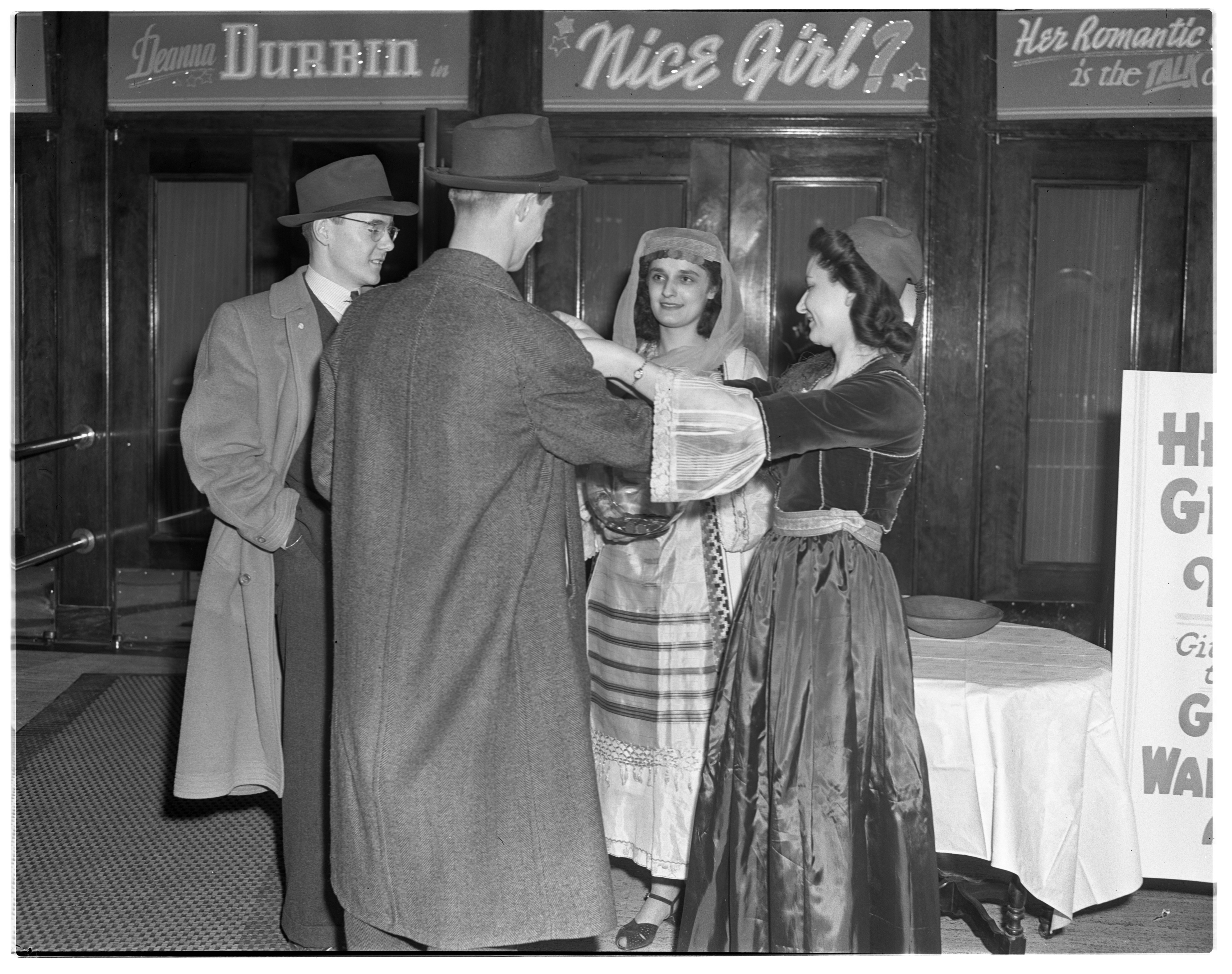 Greek Relief Collection, Michigan Theater, 1942 image