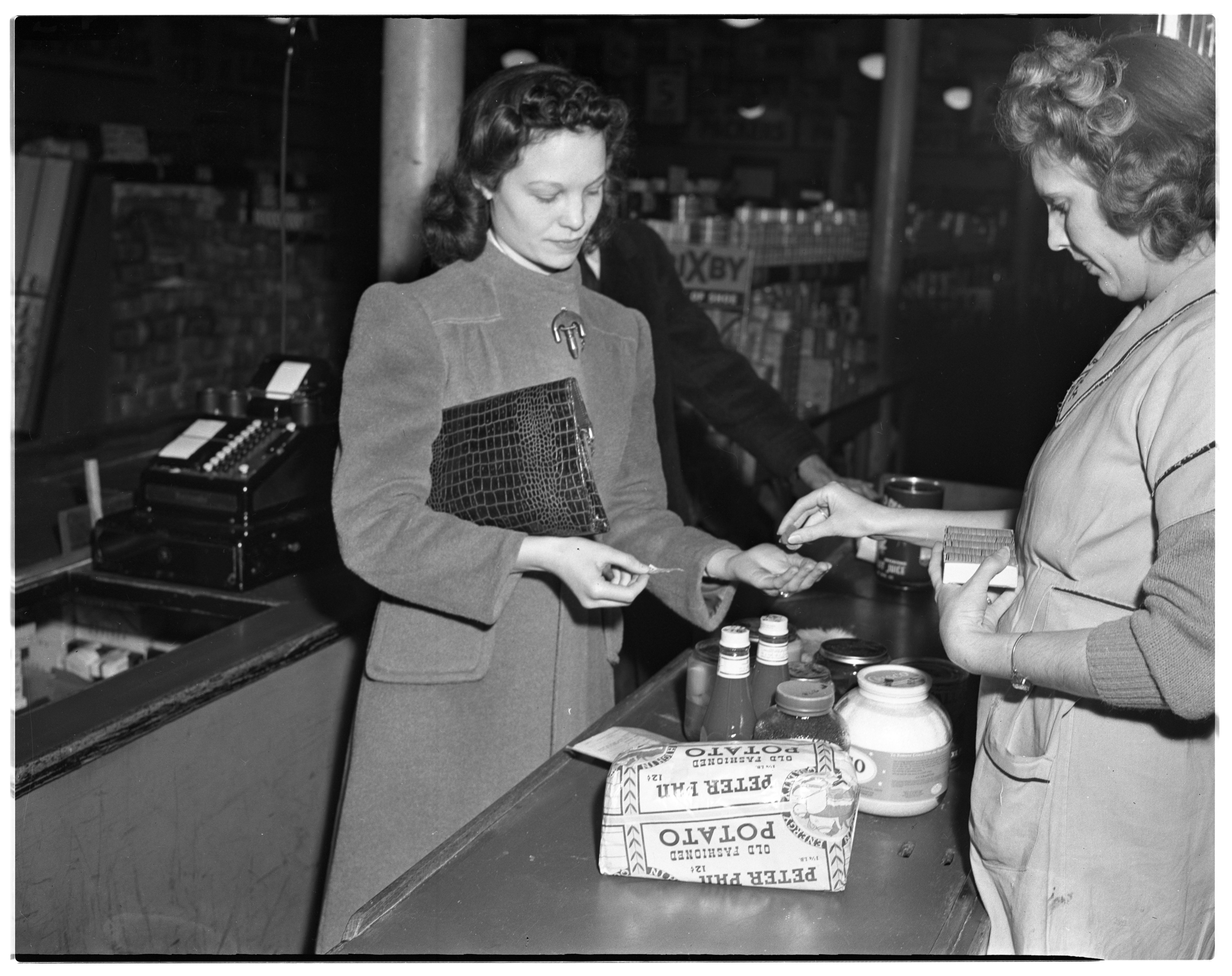 First Ration Tokens, Packers Outlet, Ann Arbor, March 1944 image