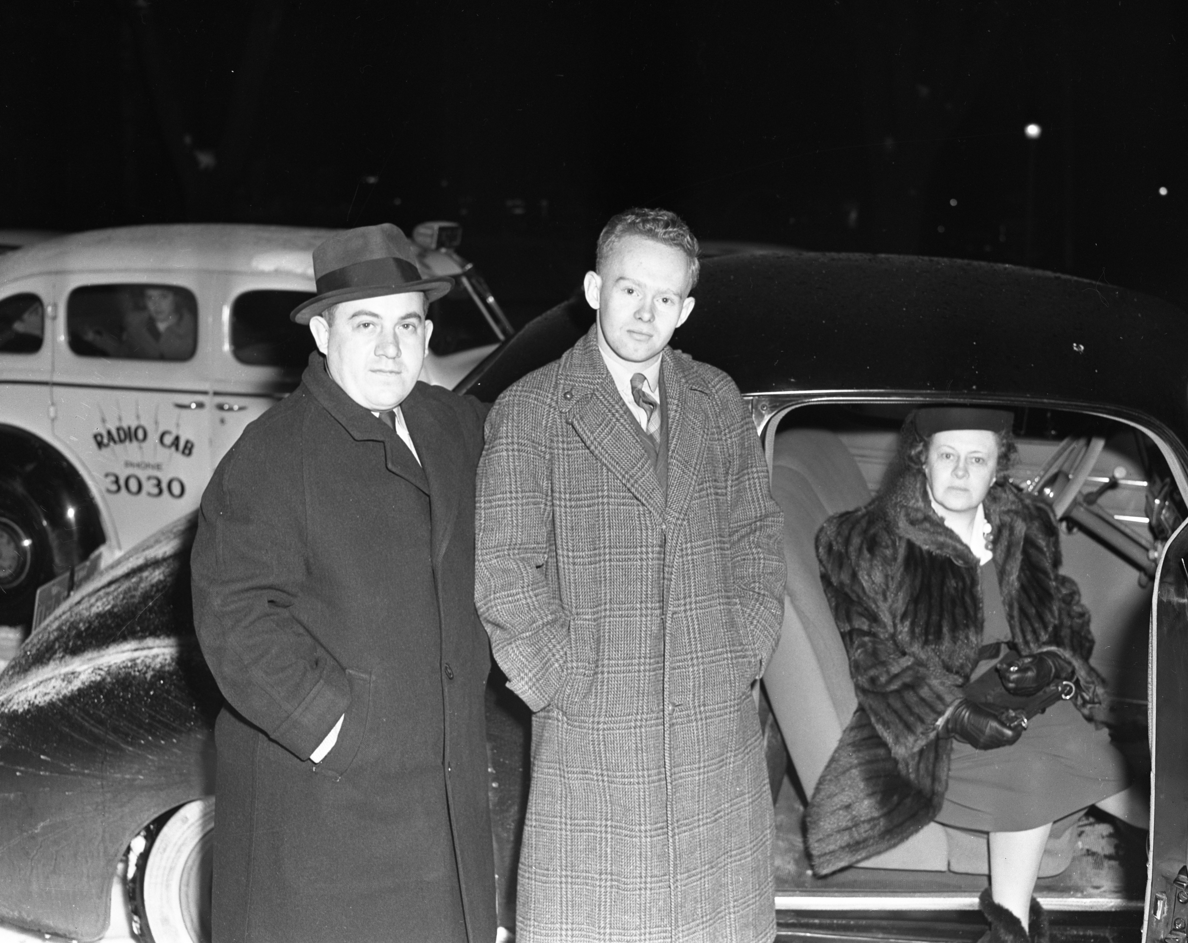 First Ann Arbor draftees leave, November 1940 image