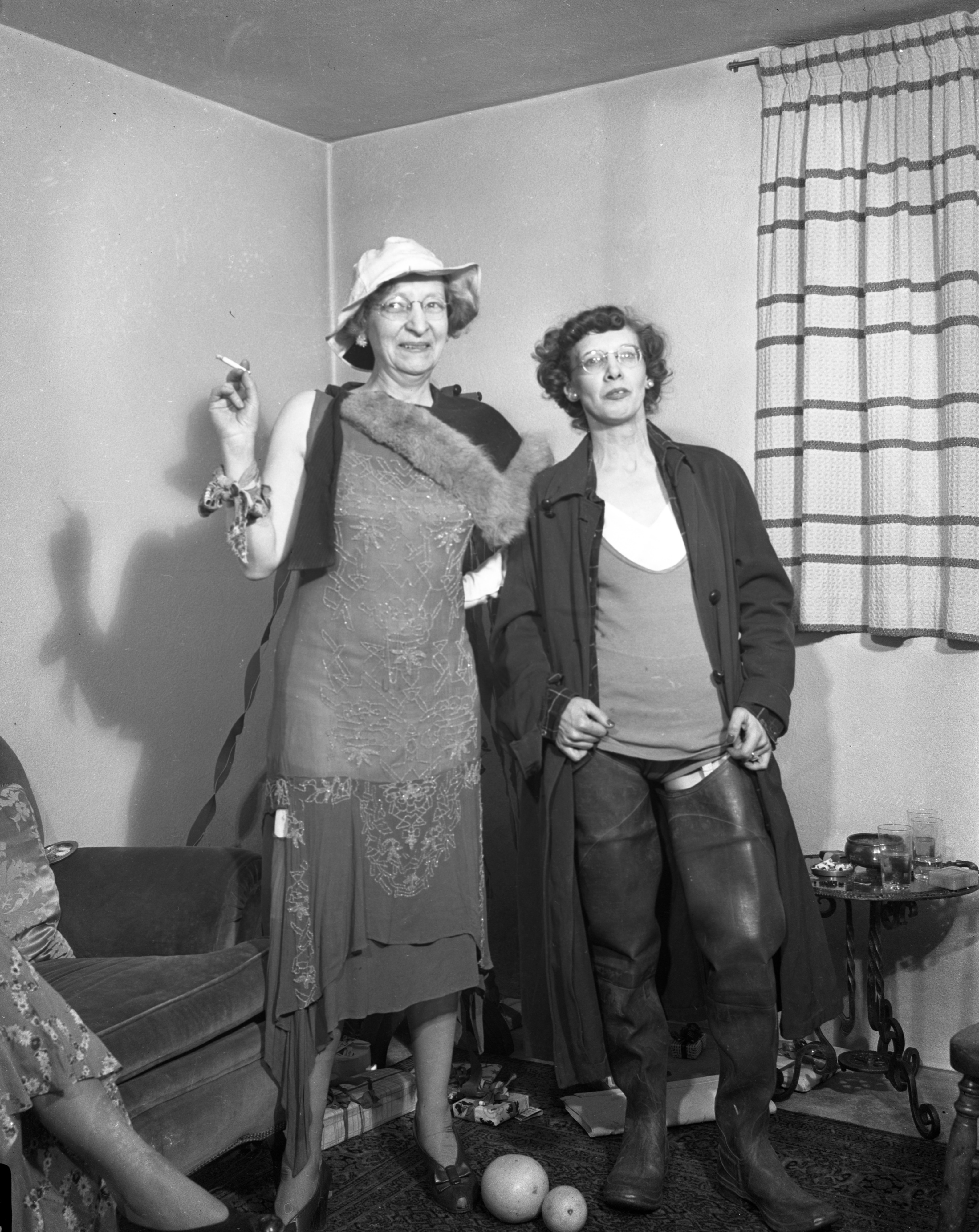 Ann Arbor News Girls' Club and Costume Party, 1944-45 image